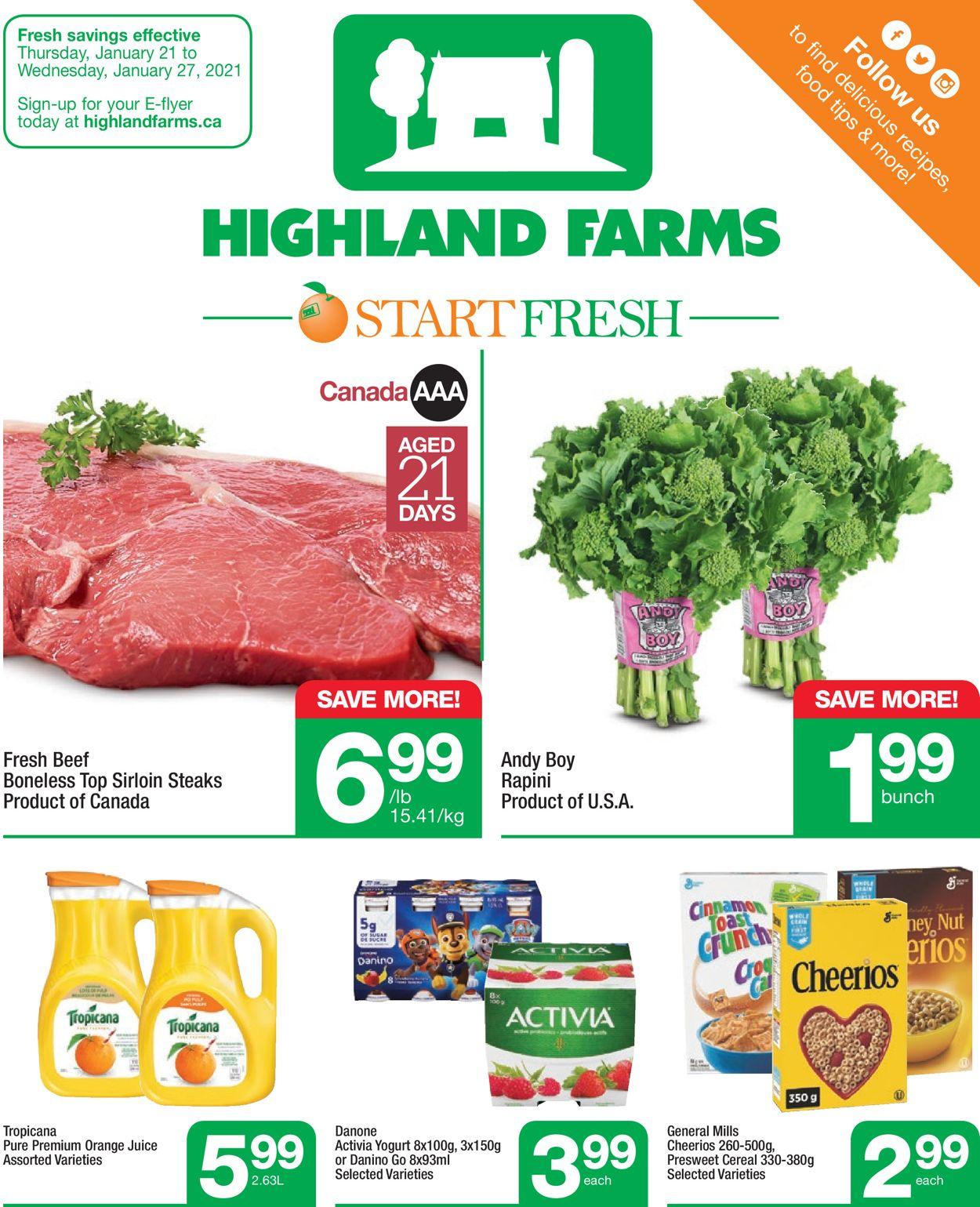 Highland Farms Flyer - 01/21-01/27/2021