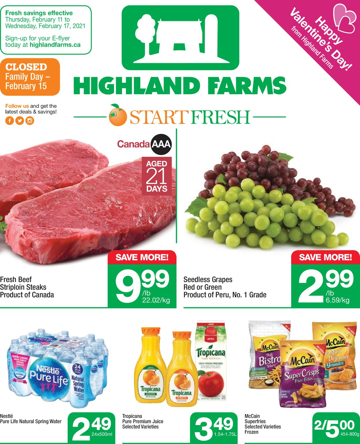 Highland Farms Flyer - 02/11-02/17/2021