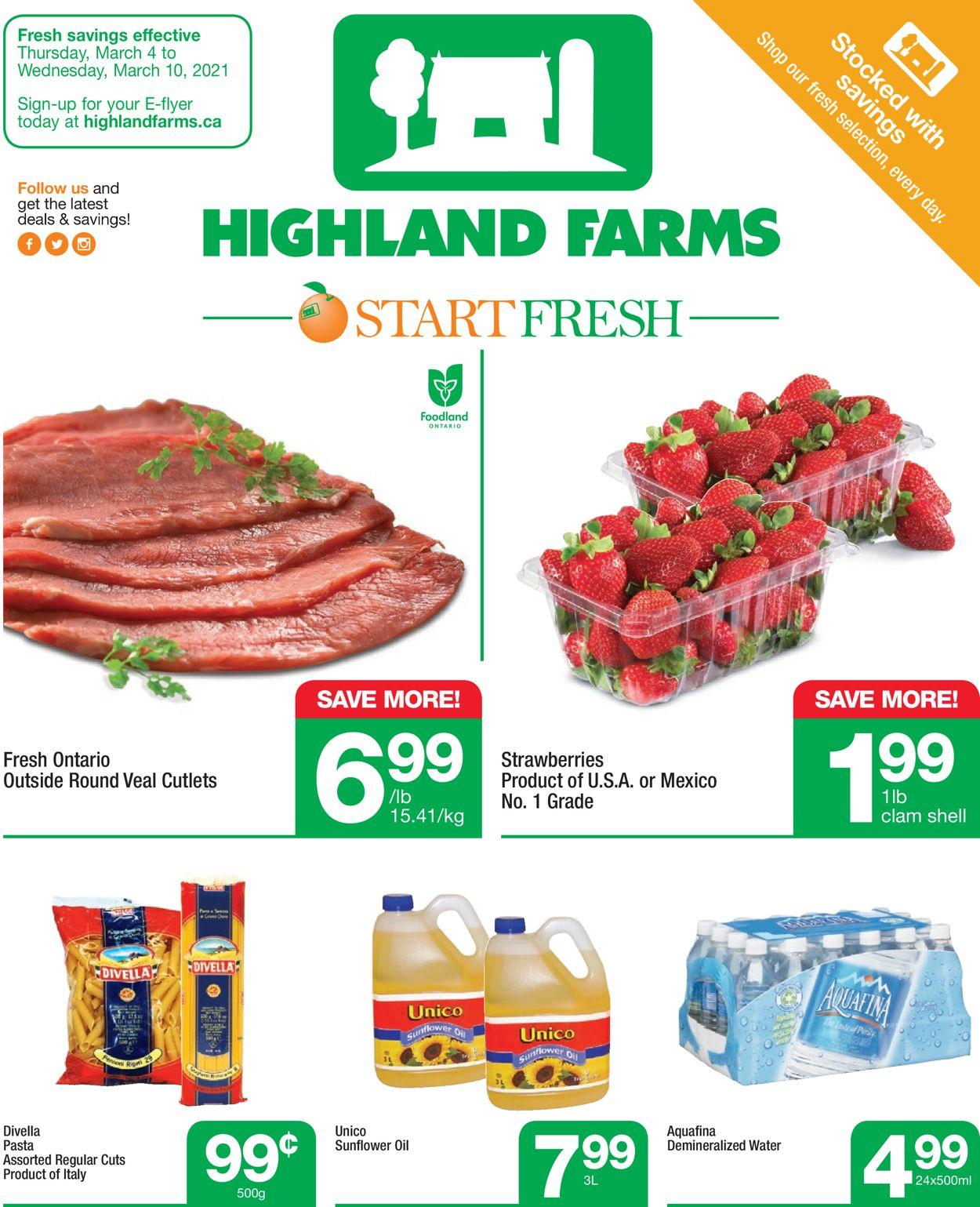 Highland Farms Flyer - 03/04-03/10/2021
