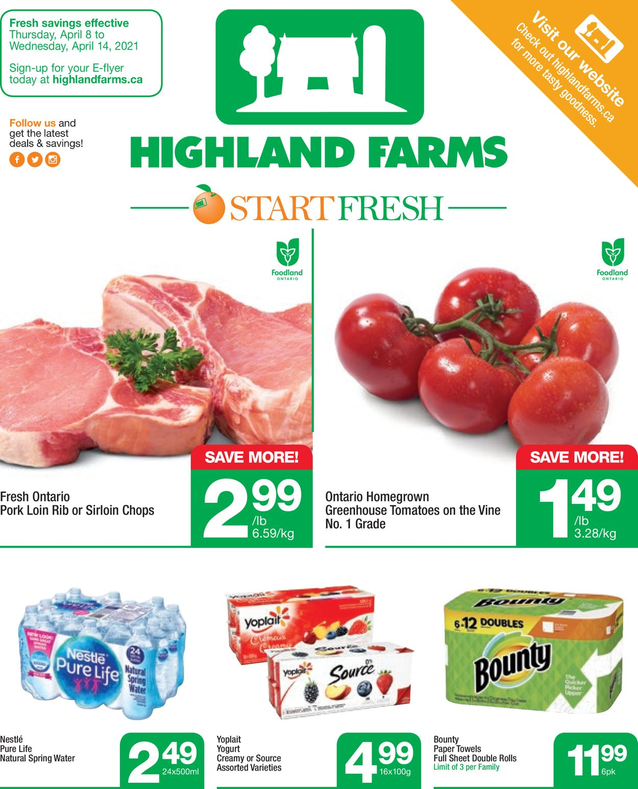 Highland Farms Flyer - 04/08-04/14/2021