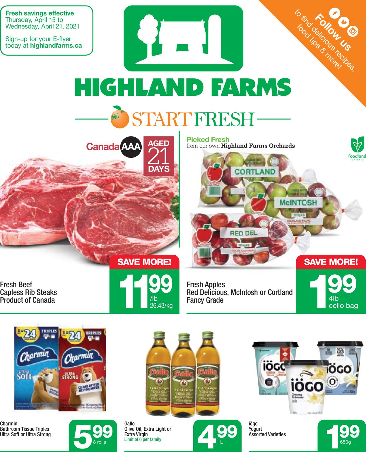 Highland Farms Flyer - 04/15-04/21/2021