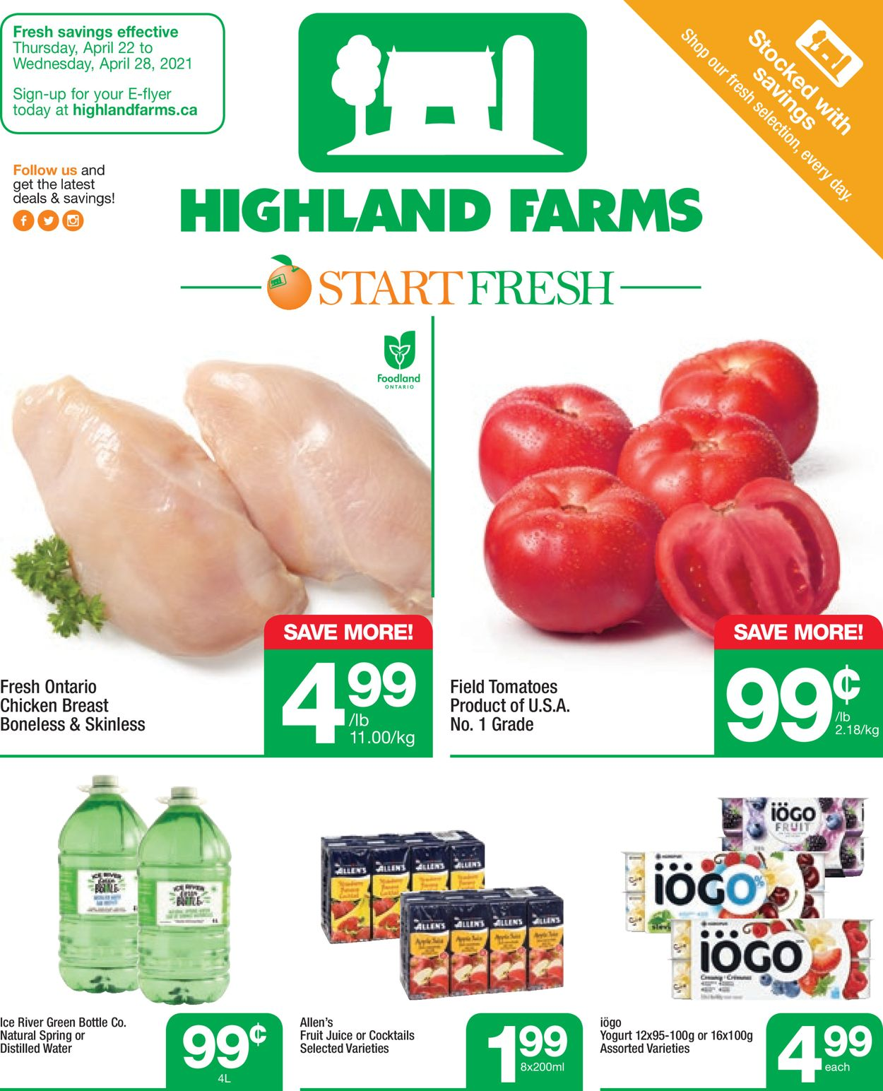 Highland Farms Flyer - 04/22-04/28/2021