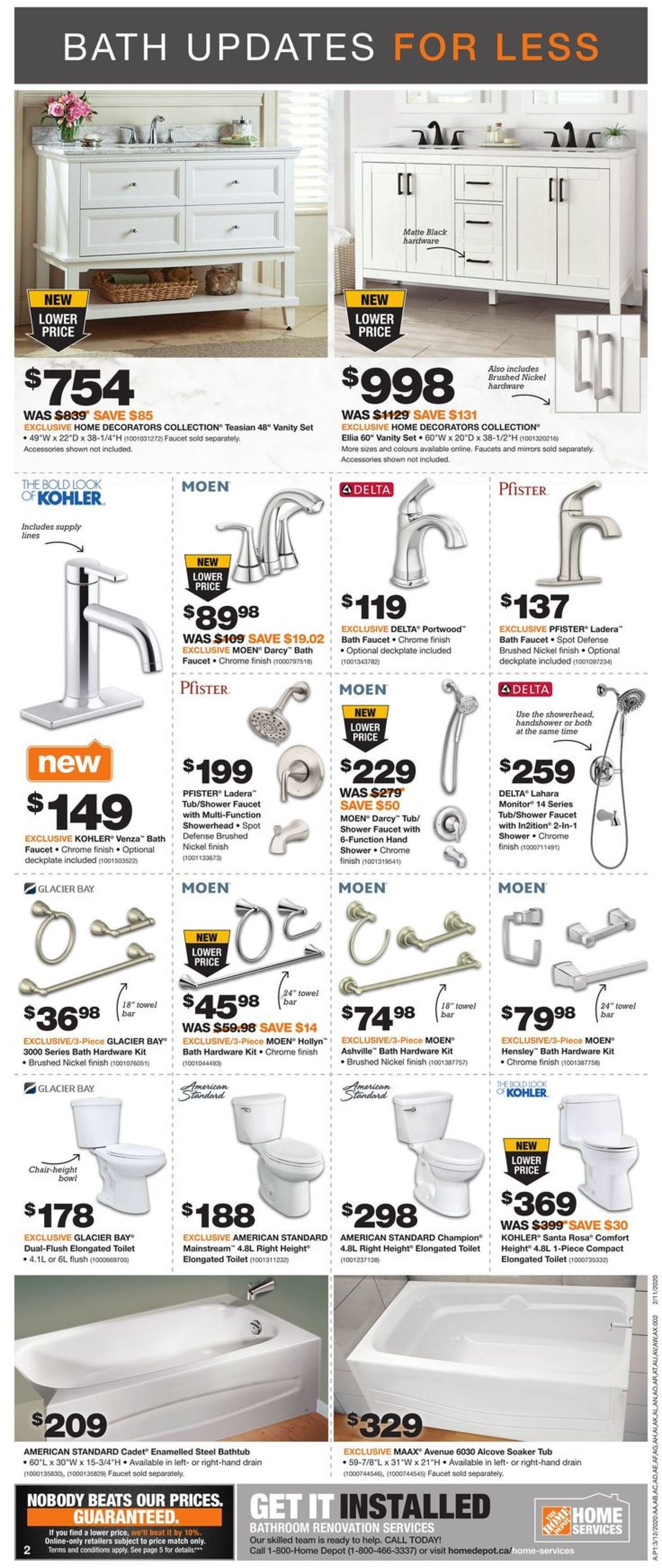 Home Depot Flyer - 03/12-03/18/2020 (Page 3)