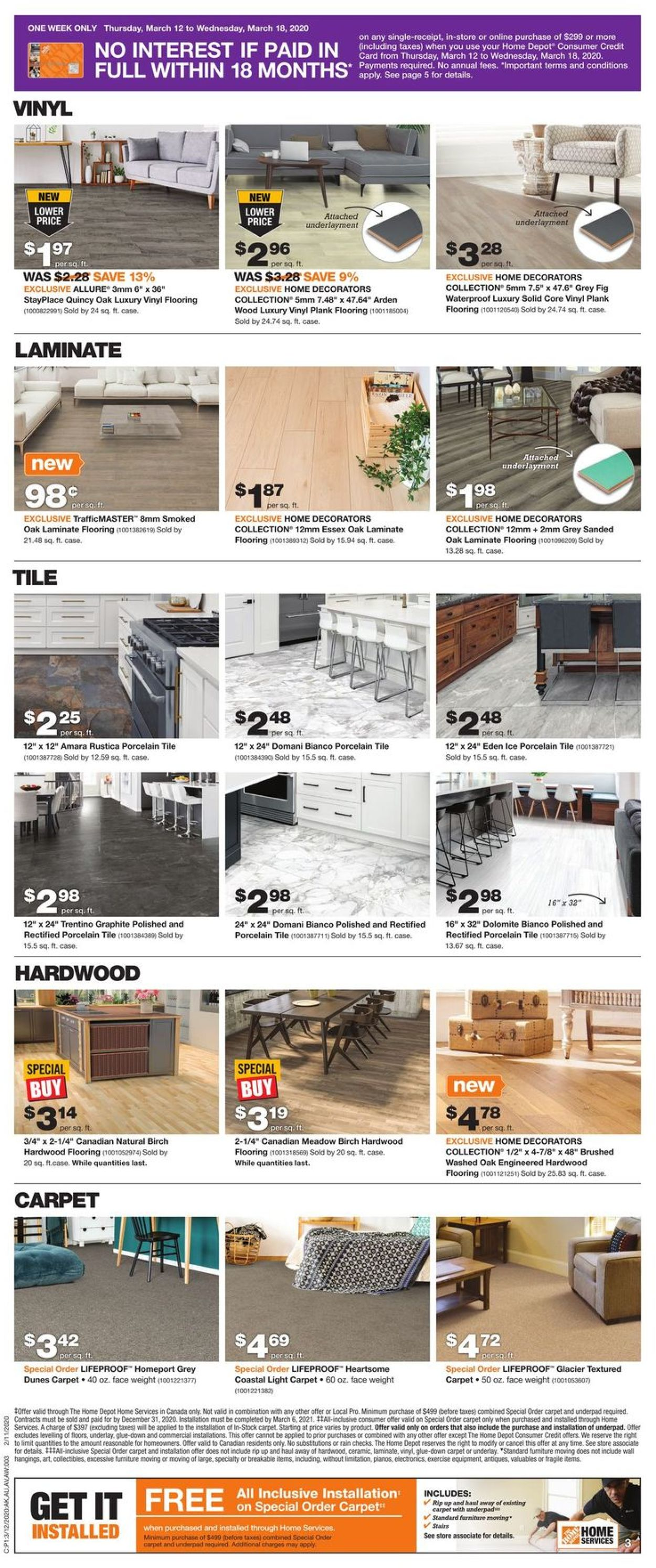 Home Depot Flyer - 03/12-03/18/2020 (Page 4)