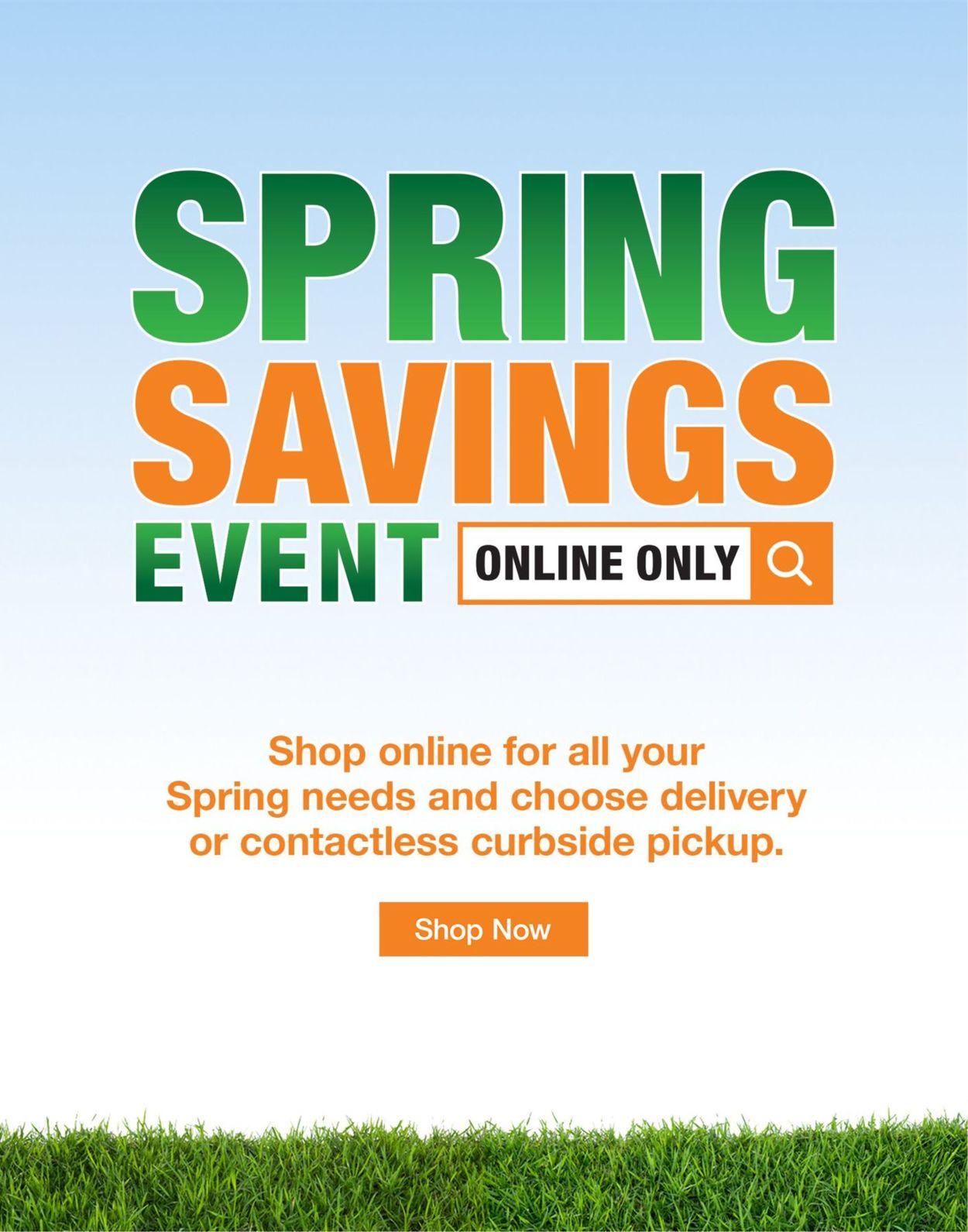 Home Depot Flyer - 03/31-05/06/2020