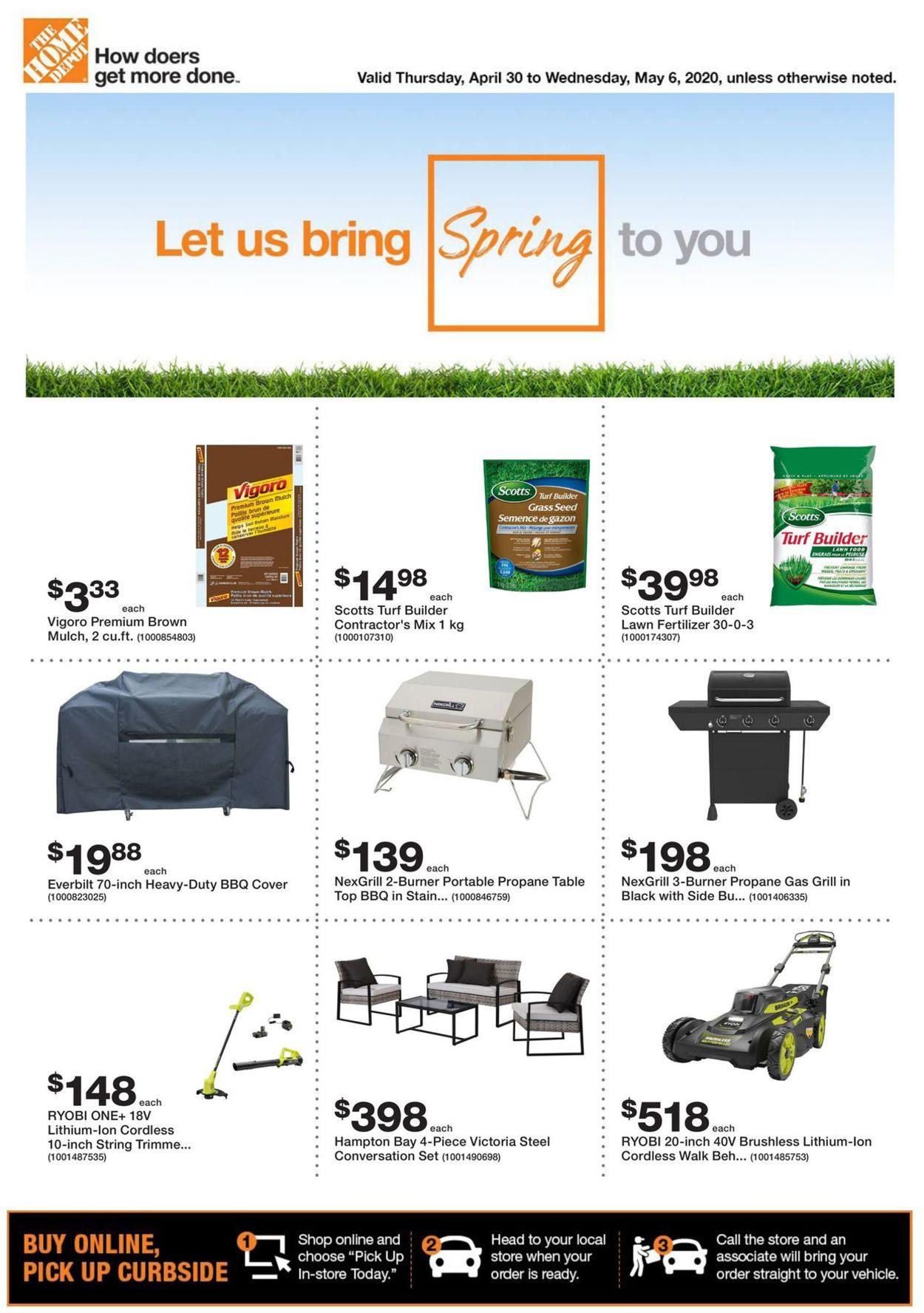 Home Depot Flyer - 04/30-05/06/2020