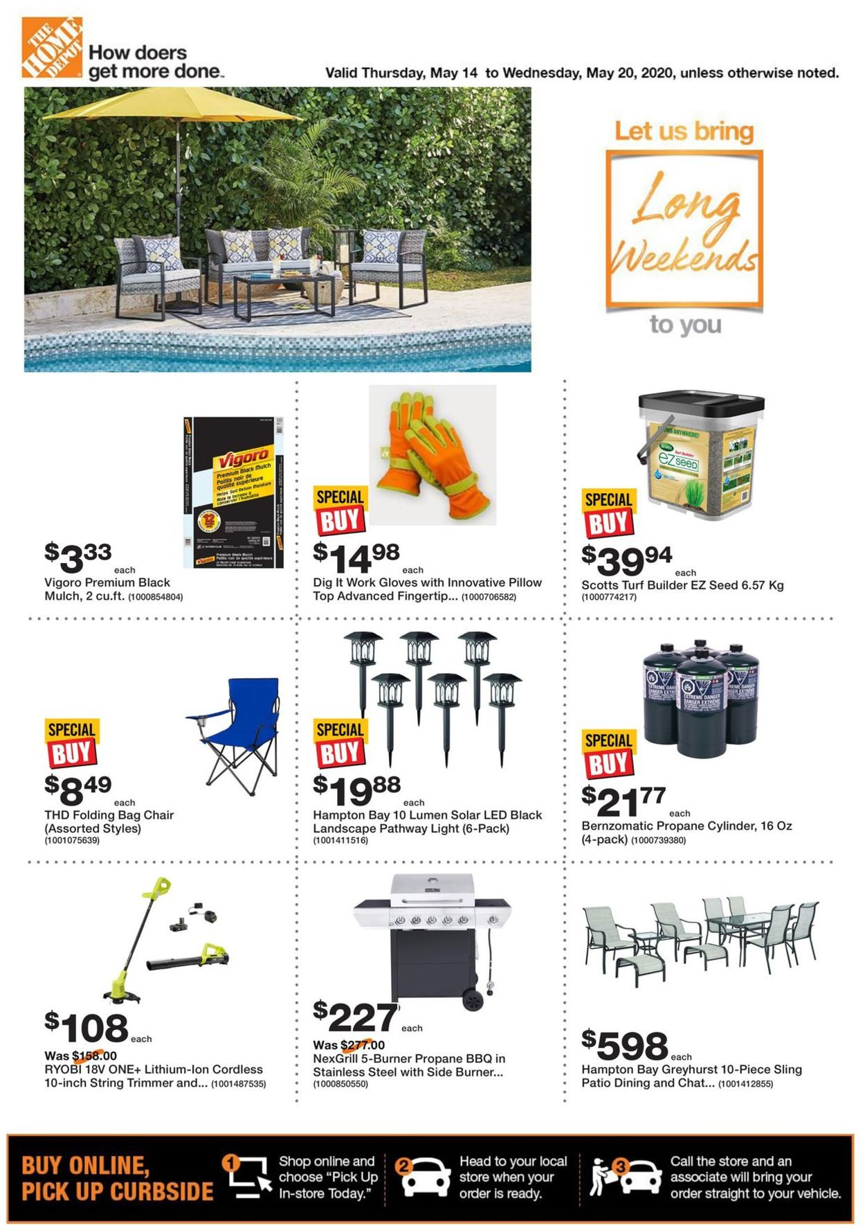 Home Depot Flyer - 05/14-05/20/2020