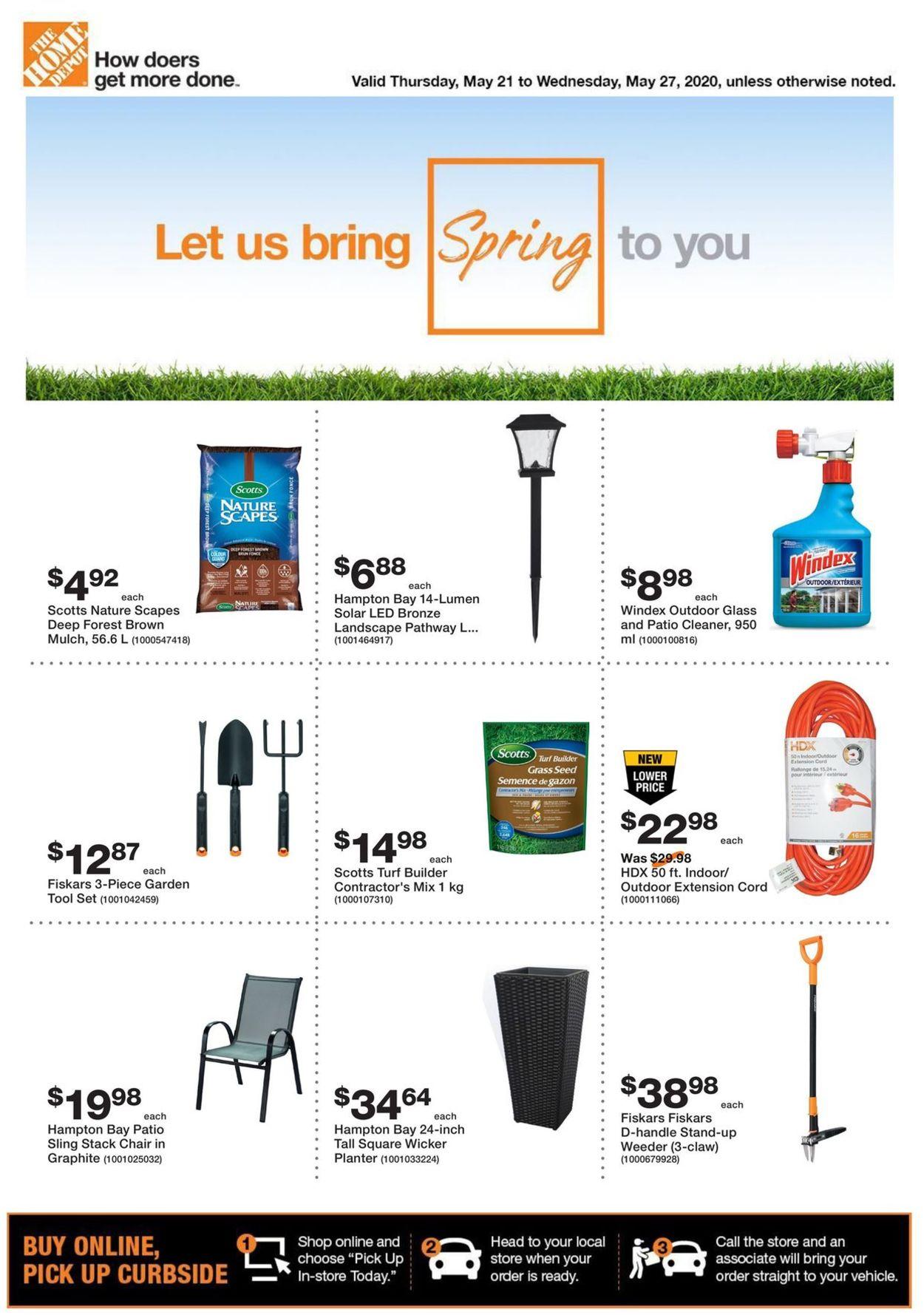 Home Depot Flyer - 05/21-05/27/2020