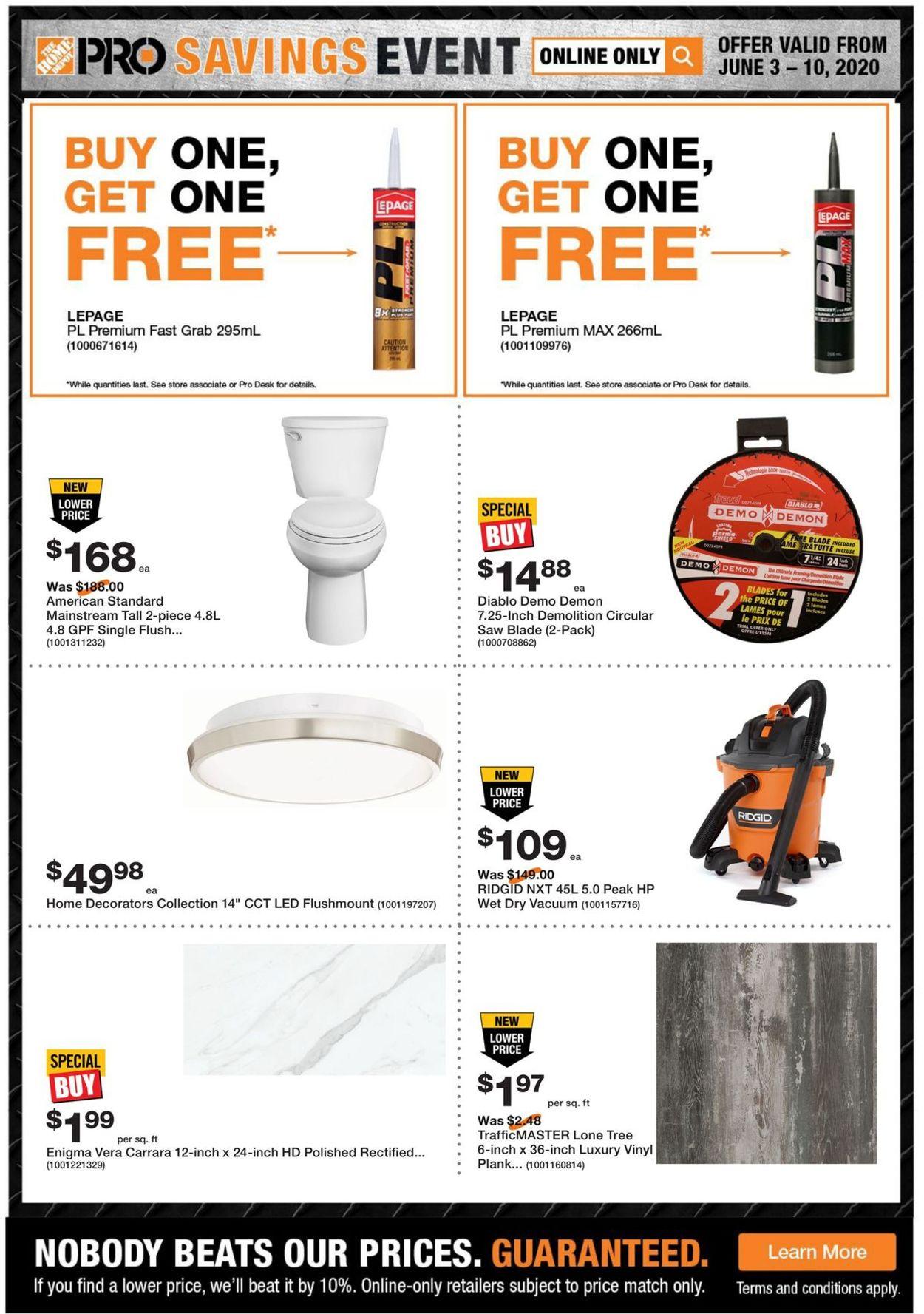 Home Depot Flyer - 06/03-06/10/2020