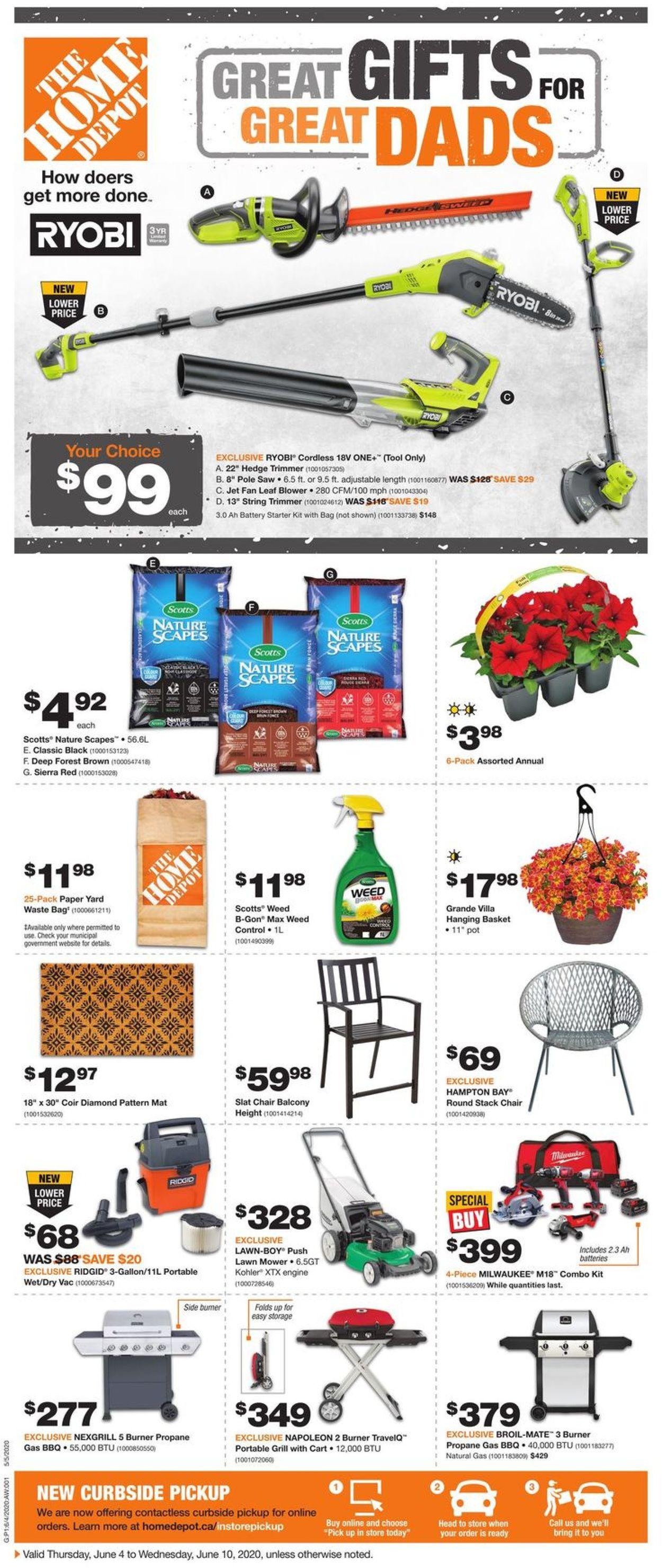 Home Depot Flyer - 06/04-06/10/2020