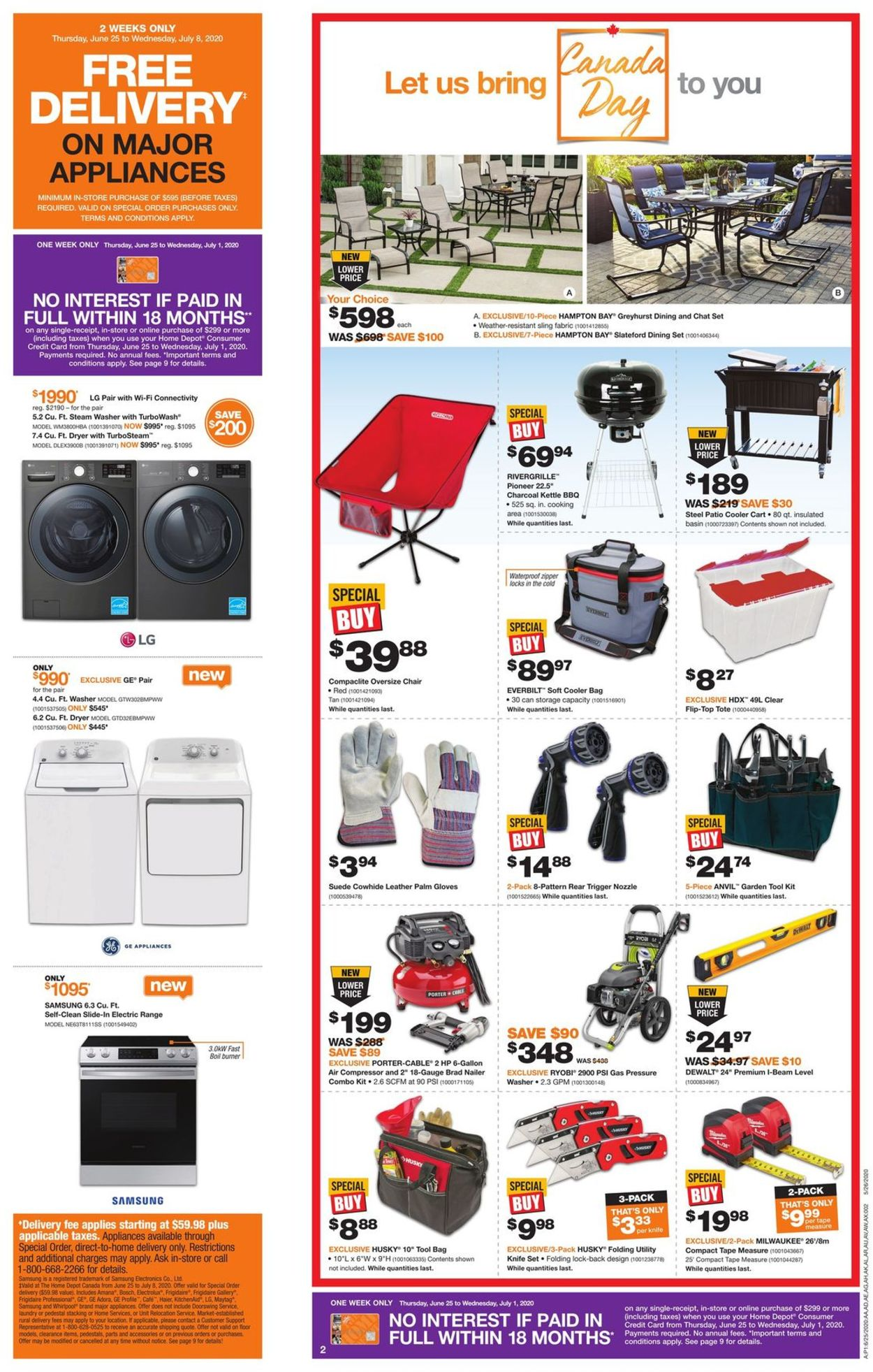 Home Depot Flyer - 06/25-07/01/2020 (Page 2)