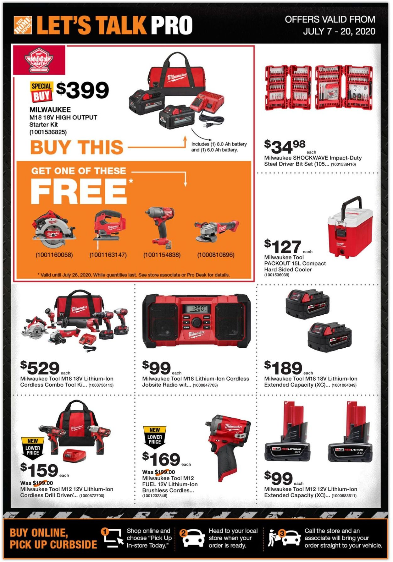 Home Depot Flyer - 07/07-07/20/2020