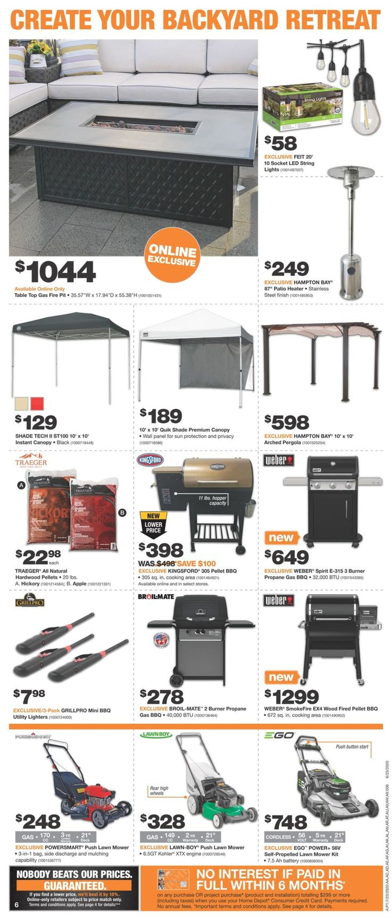 Home Depot Flyer - 07/23-07/29/2020 (Page 6)