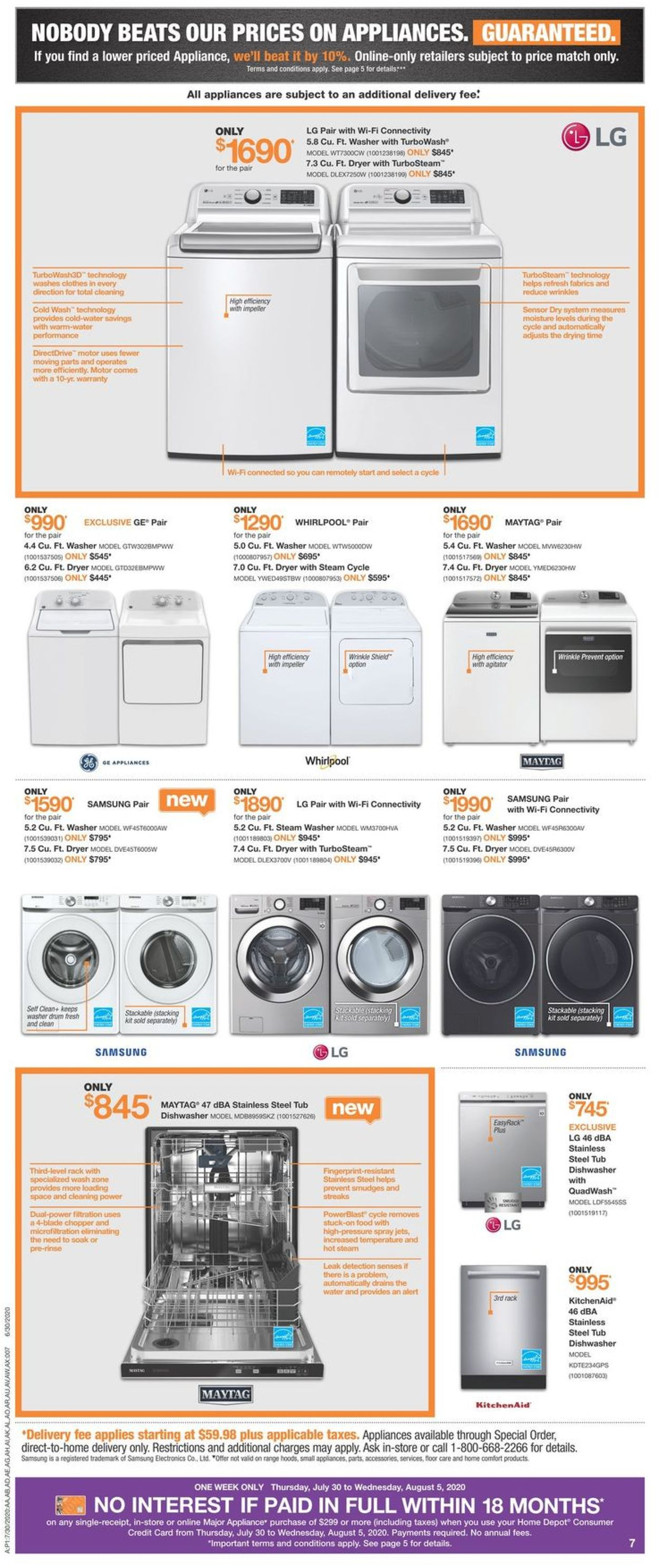 Home Depot Flyer - 07/30-08/05/2020 (Page 9)