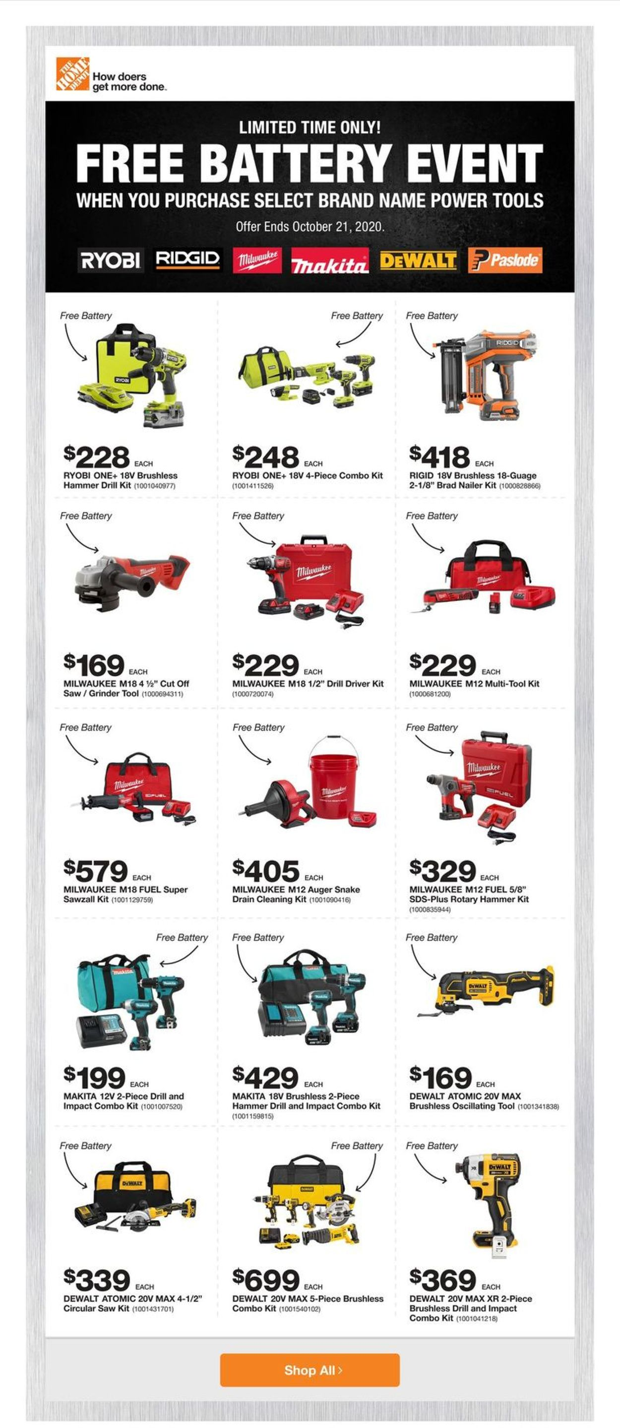 Home Depot Flyer - 10/08-10/14/2020 (Page 5)