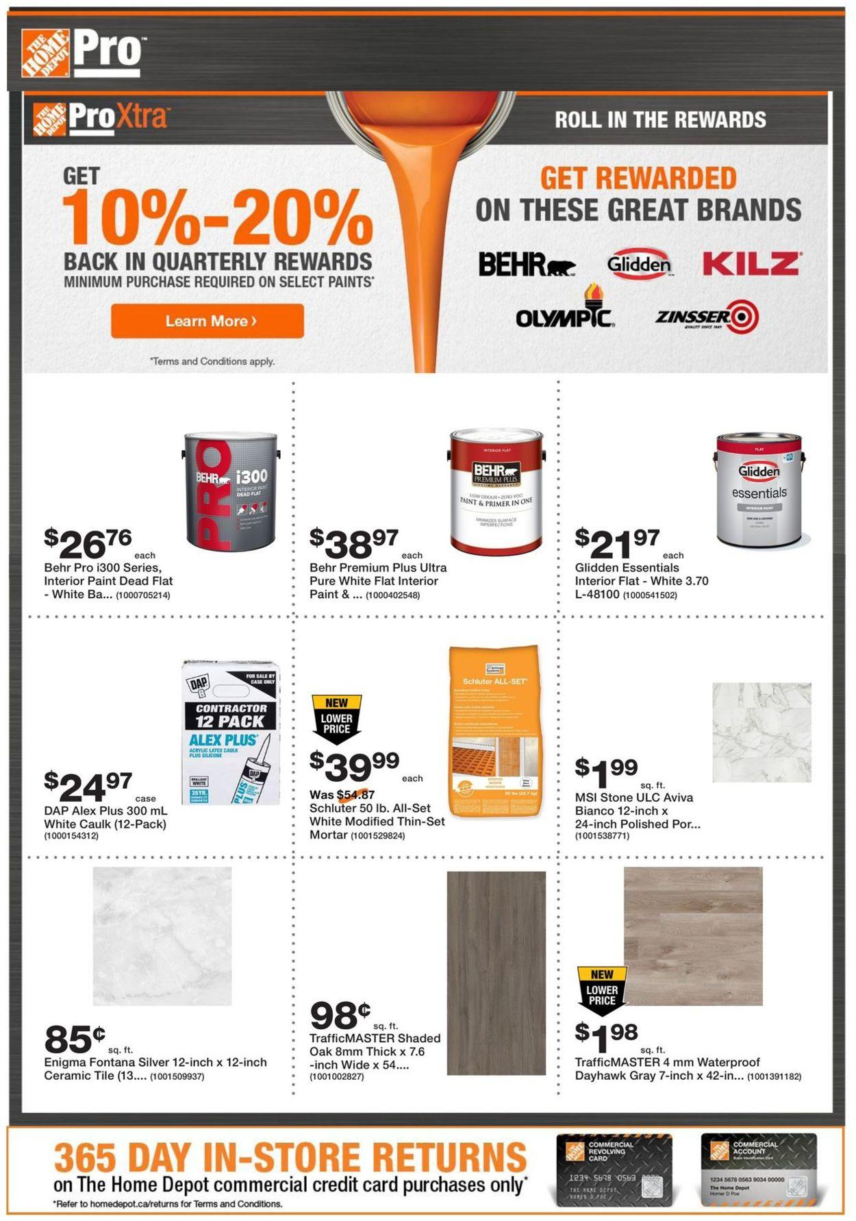 Home Depot Flyer - 10/20-11/02/2020