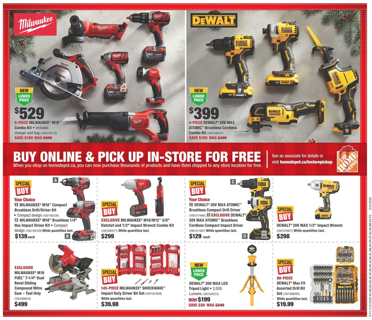 Home Depot - Black Friday 2020 Flyer - 11/19-11/25/2020 (Page 14)