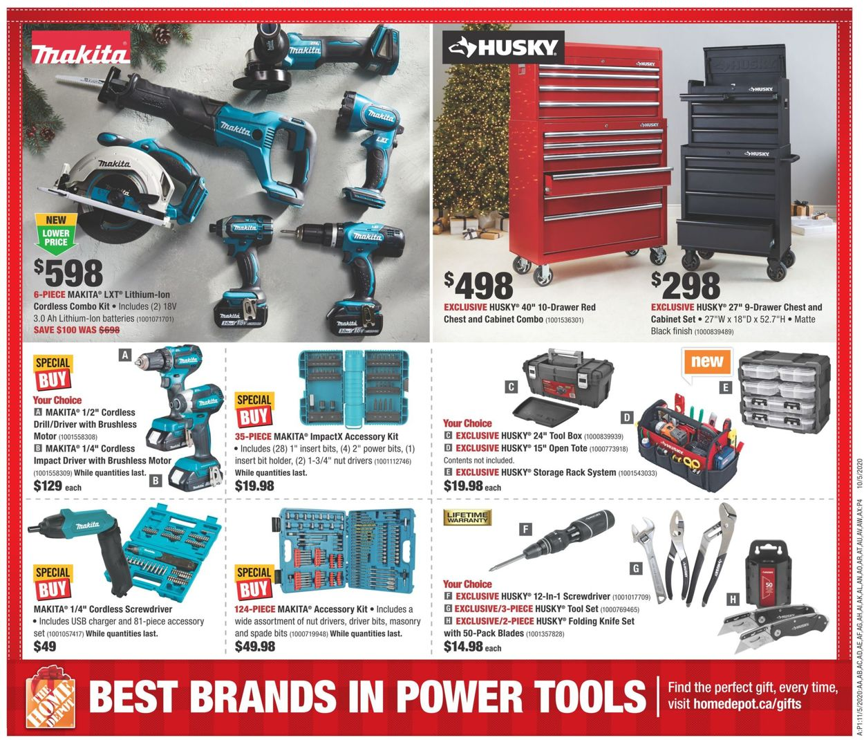 Home Depot - Black Friday 2020 Flyer - 11/19-11/25/2020 (Page 15)