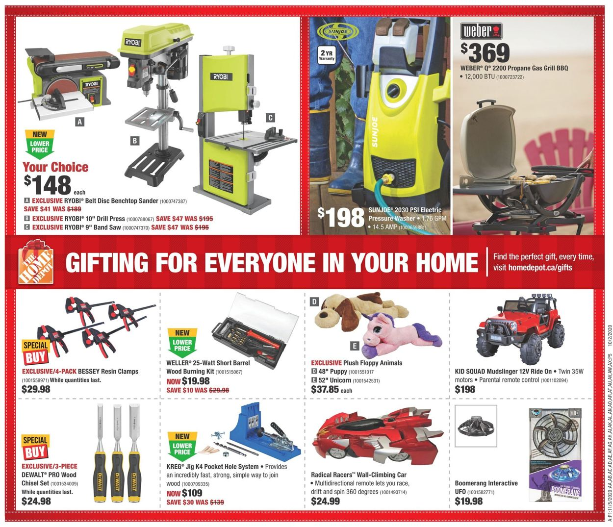 Home Depot - Black Friday 2020 Flyer - 11/19-11/25/2020 (Page 16)