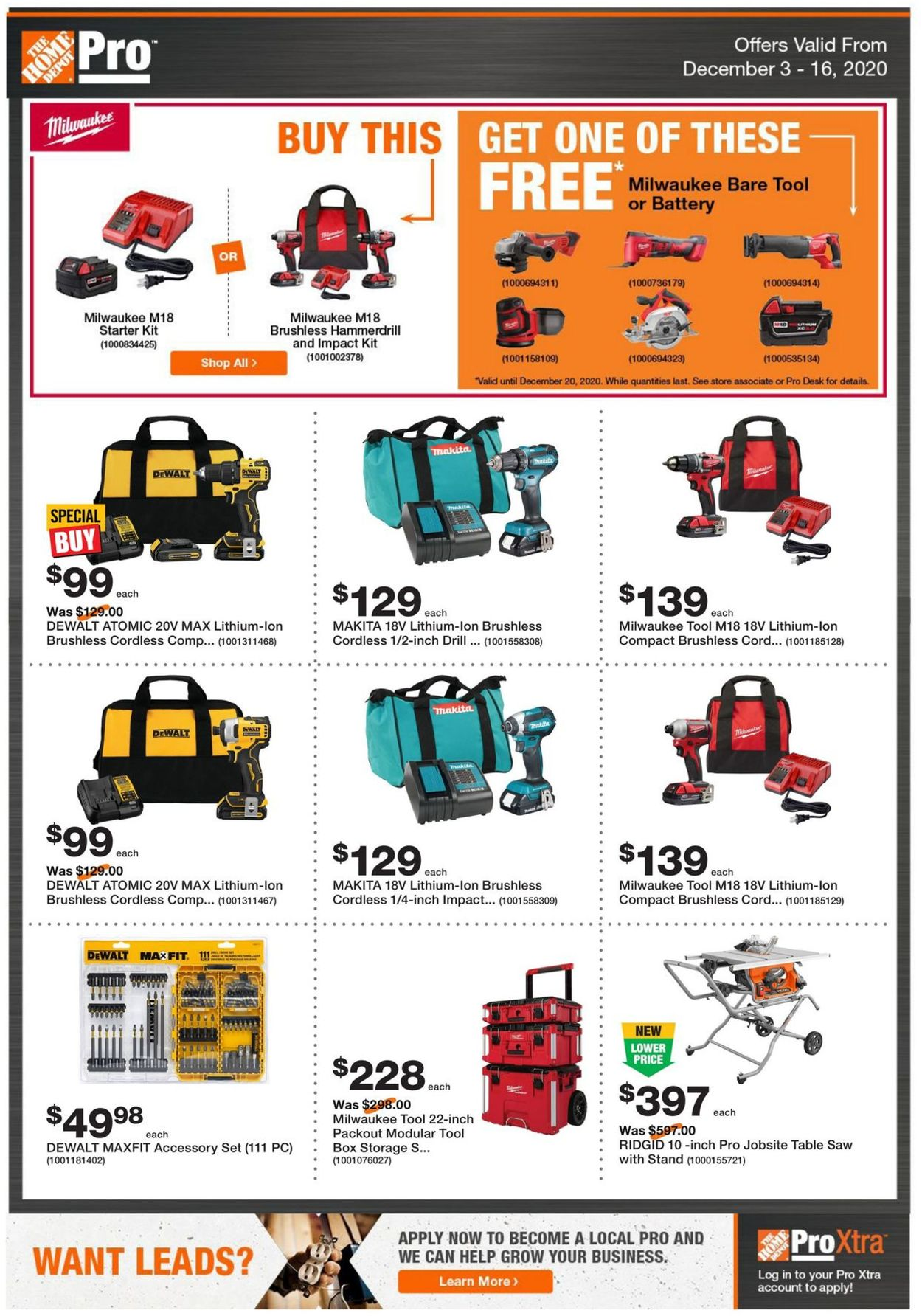 Home Depot - Holiday 2020 Flyer - 12/03-12/16/2020