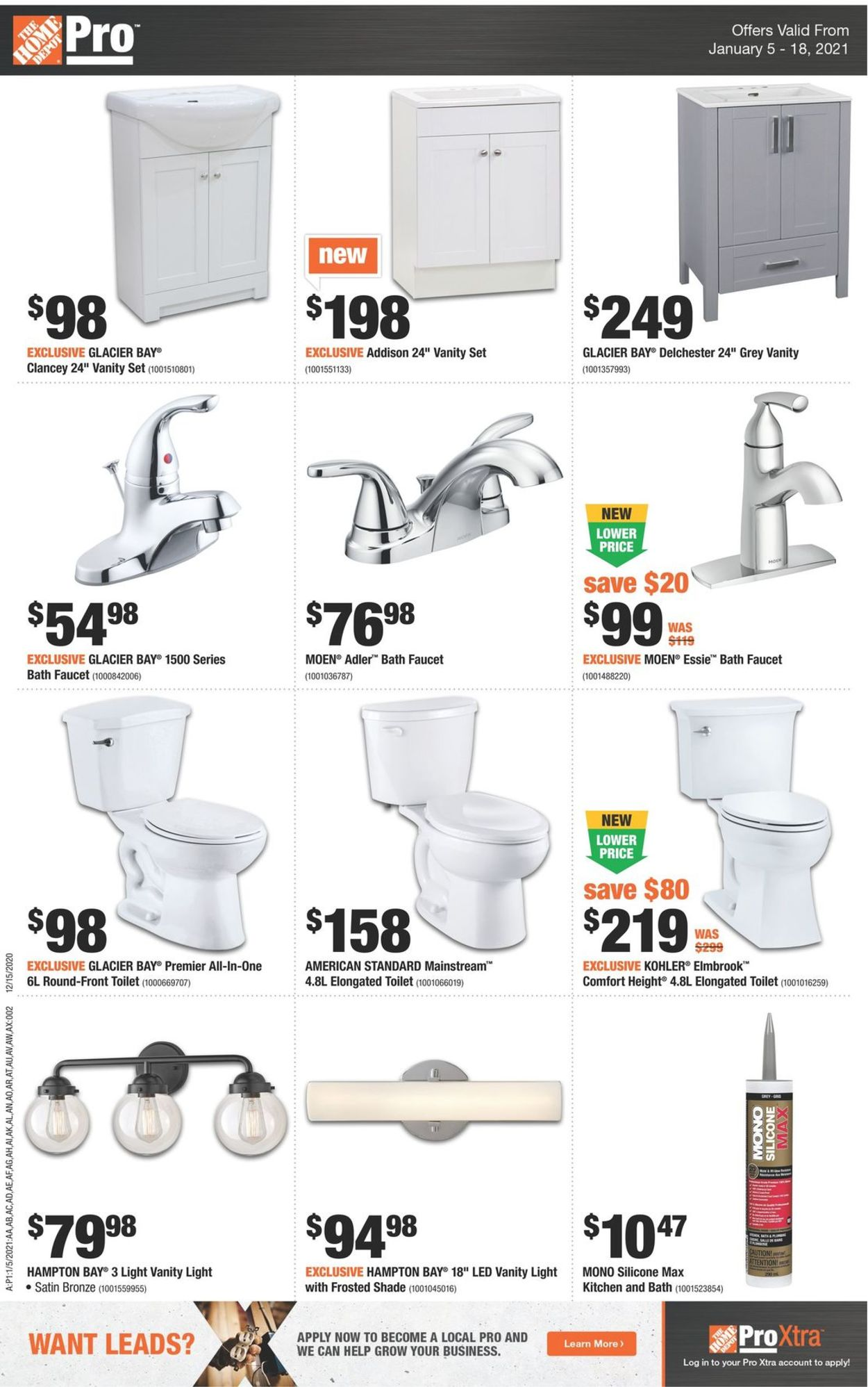 Home Depot Flyer - 01/05-01/18/2021 (Page 2)