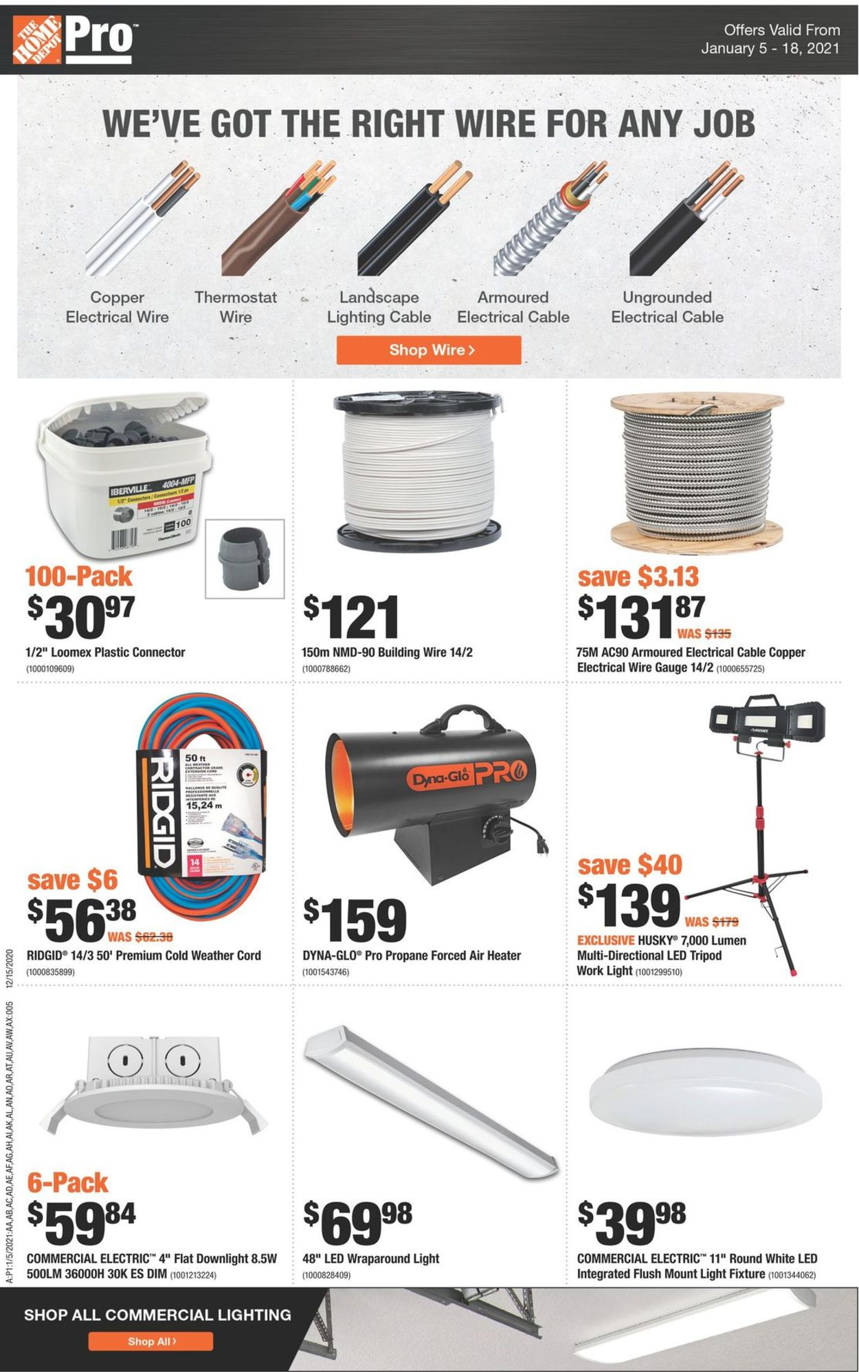 Home Depot Flyer - 01/05-01/18/2021 (Page 6)