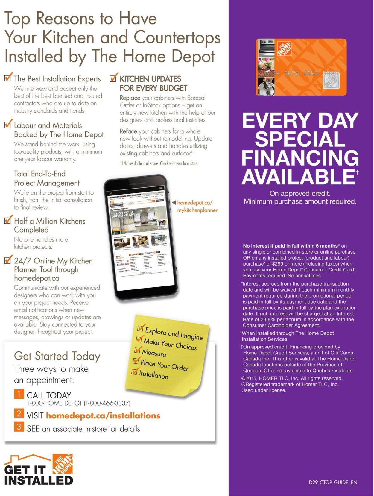 Home Depot Buying Guide 2021 Flyer - 01/01-12/31/2021 (Page 34)