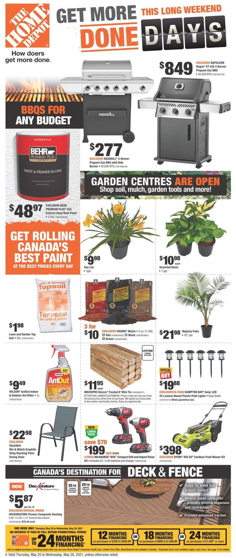 Home Depot Flyer - 05/20-05/26/2021