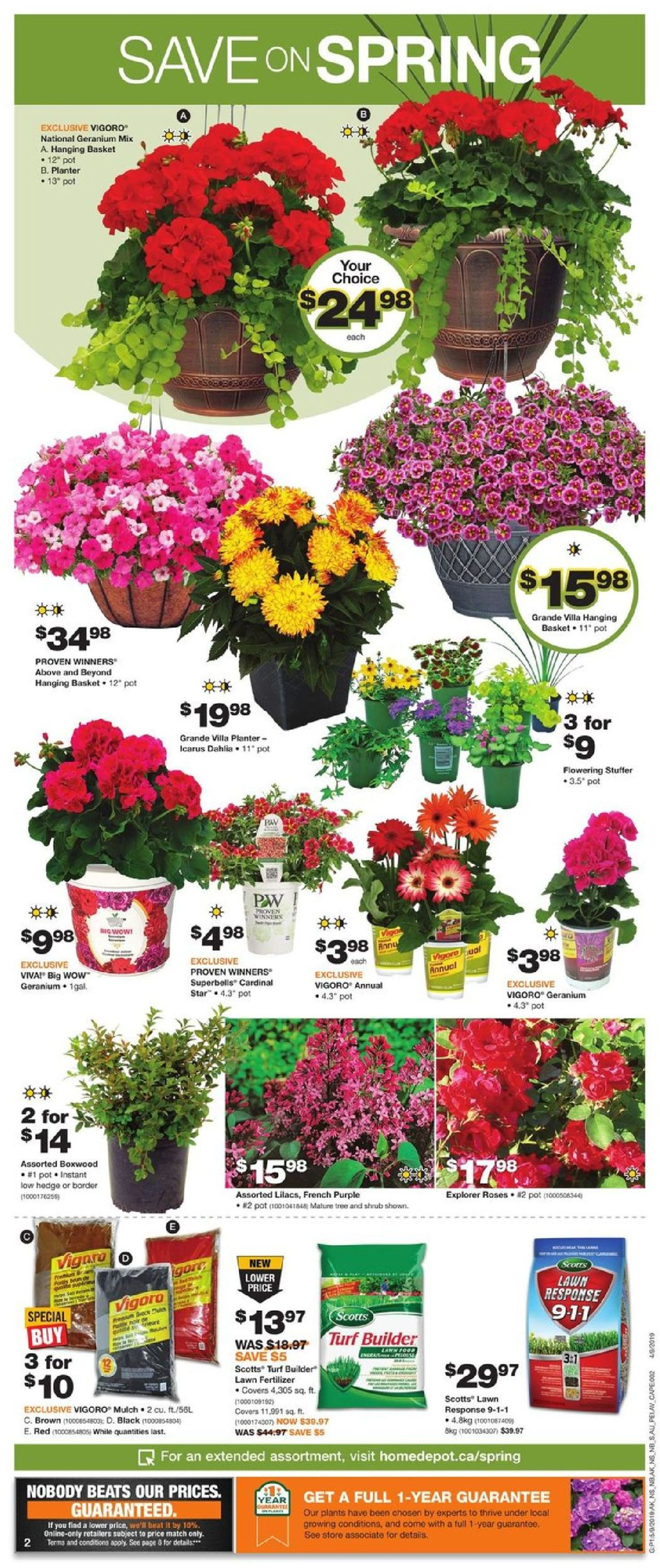 Home Depot Flyer - 05/09-05/15/2019 (Page 2)