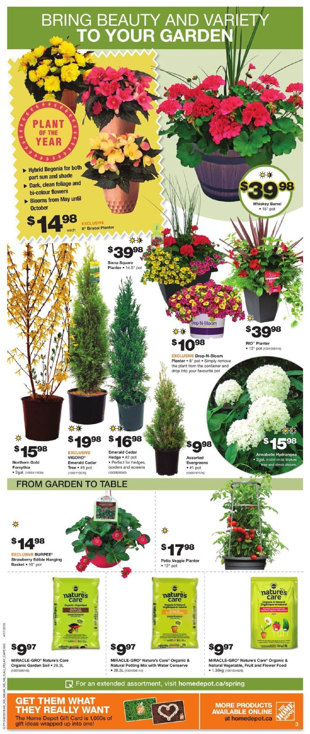Home Depot Flyer - 05/09-05/15/2019 (Page 3)