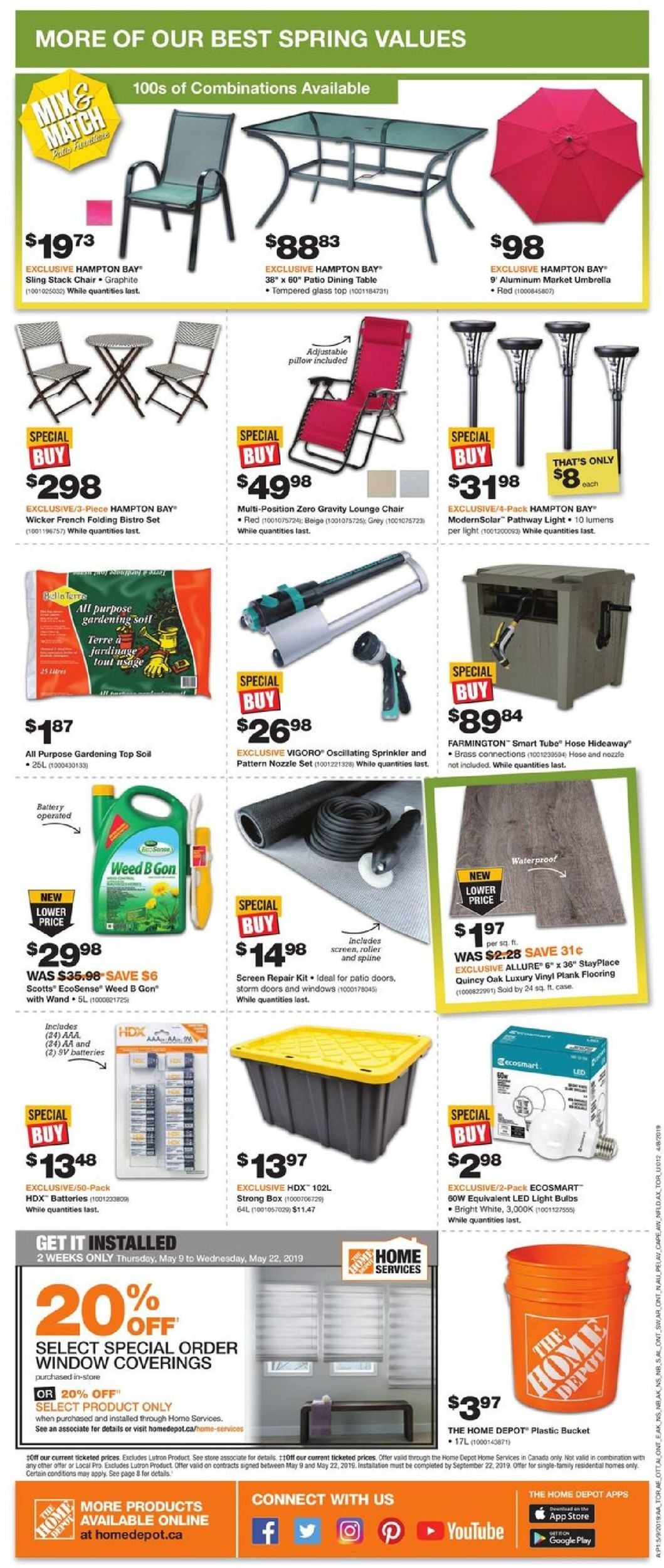 Home Depot Flyer - 05/09-05/15/2019 (Page 4)