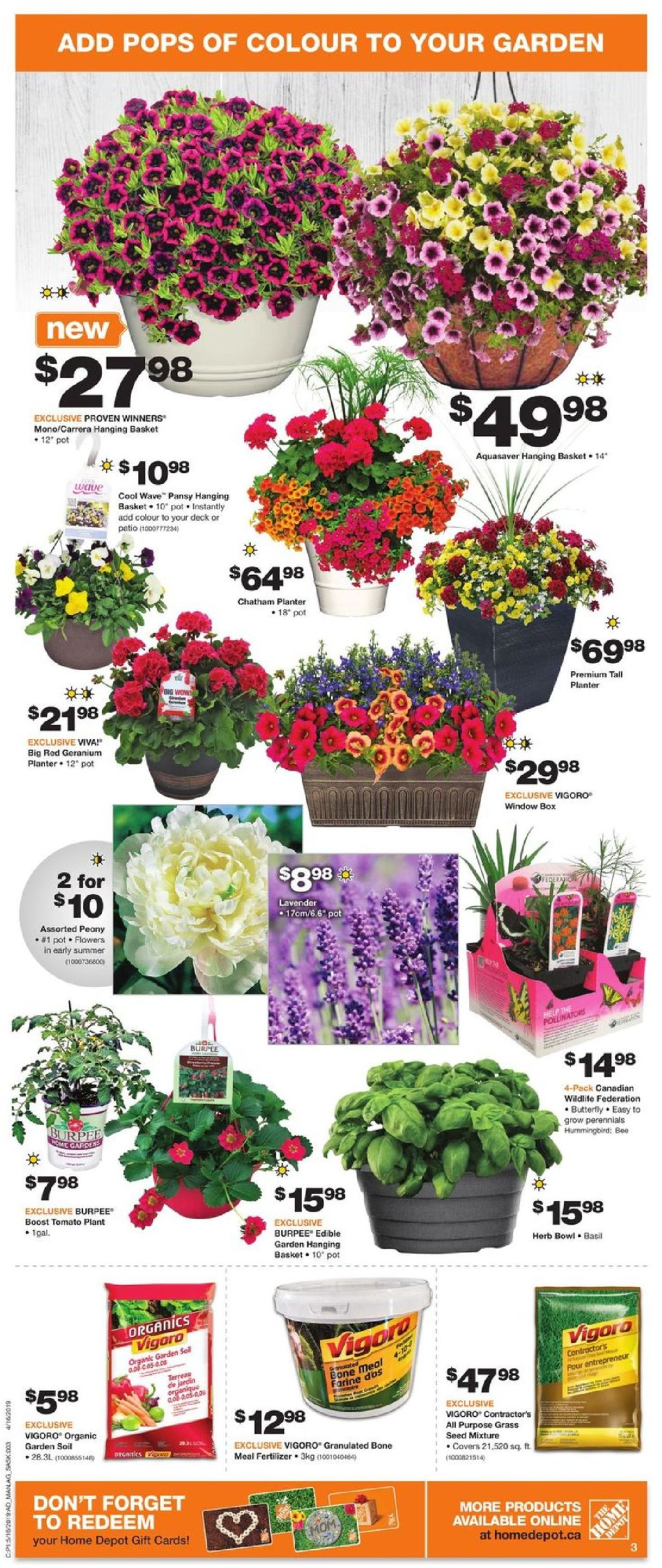 Home Depot Flyer - 05/16-05/22/2019 (Page 3)