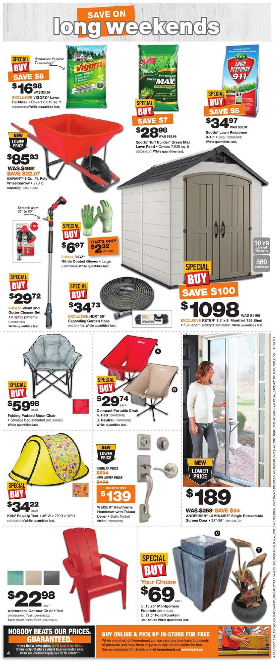 Home Depot Flyer - 05/16-05/22/2019 (Page 4)