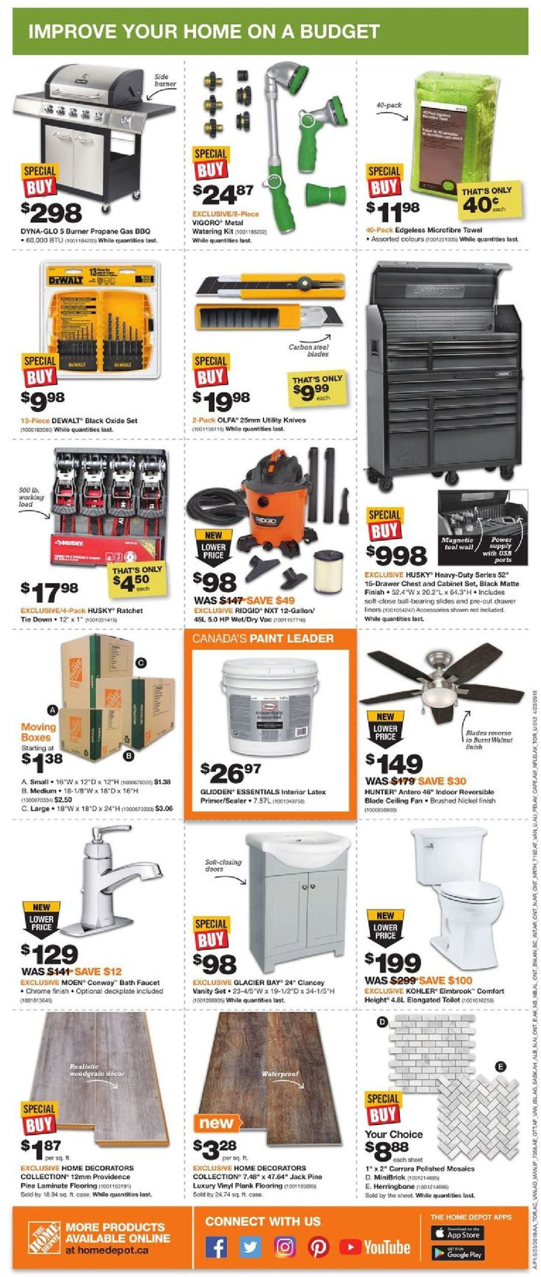 Home Depot Flyer - 05/23-05/29/2019 (Page 2)