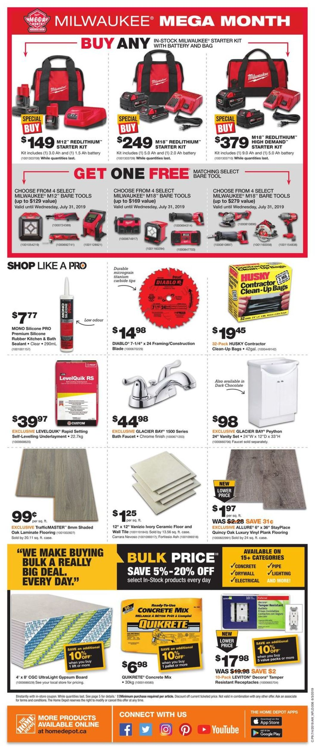 Home Depot Flyer - 07/04-07/10/2019 (Page 2)
