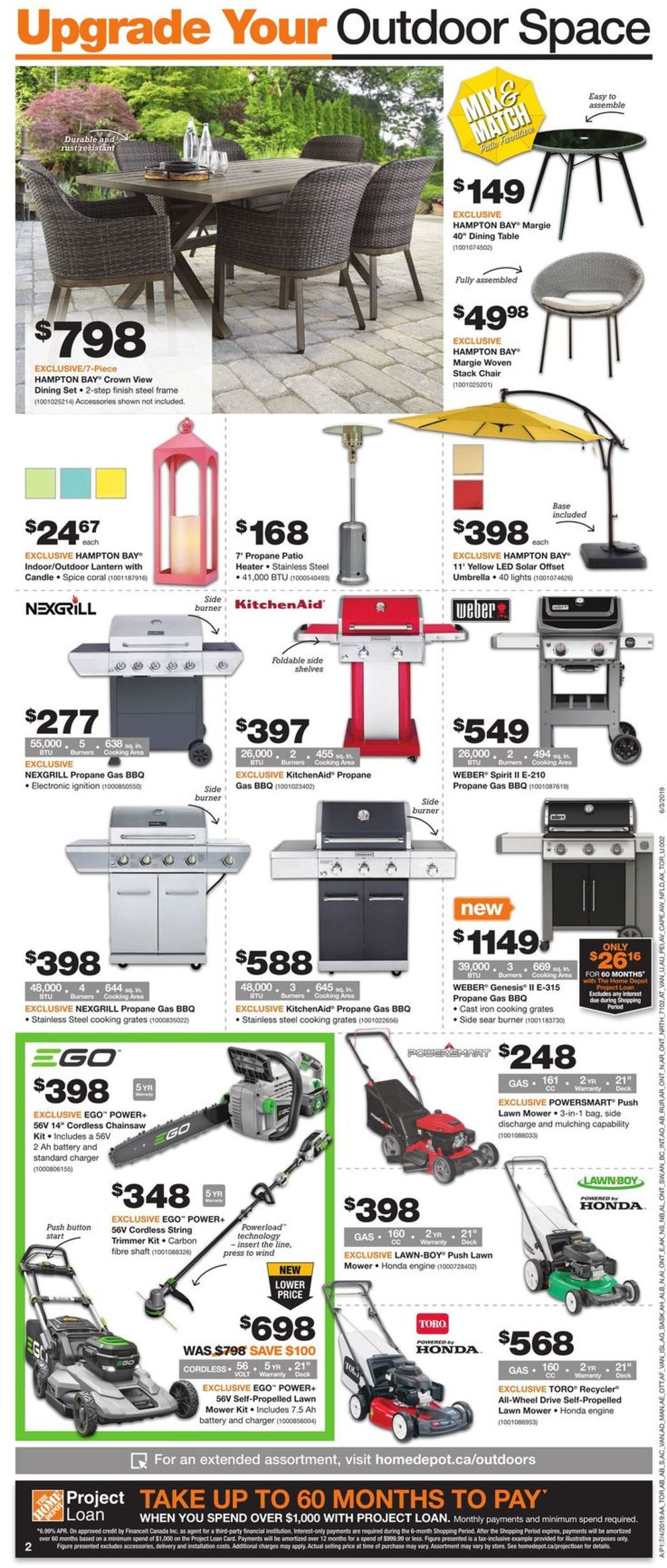 Home Depot Flyer - 07/04-07/10/2019 (Page 3)