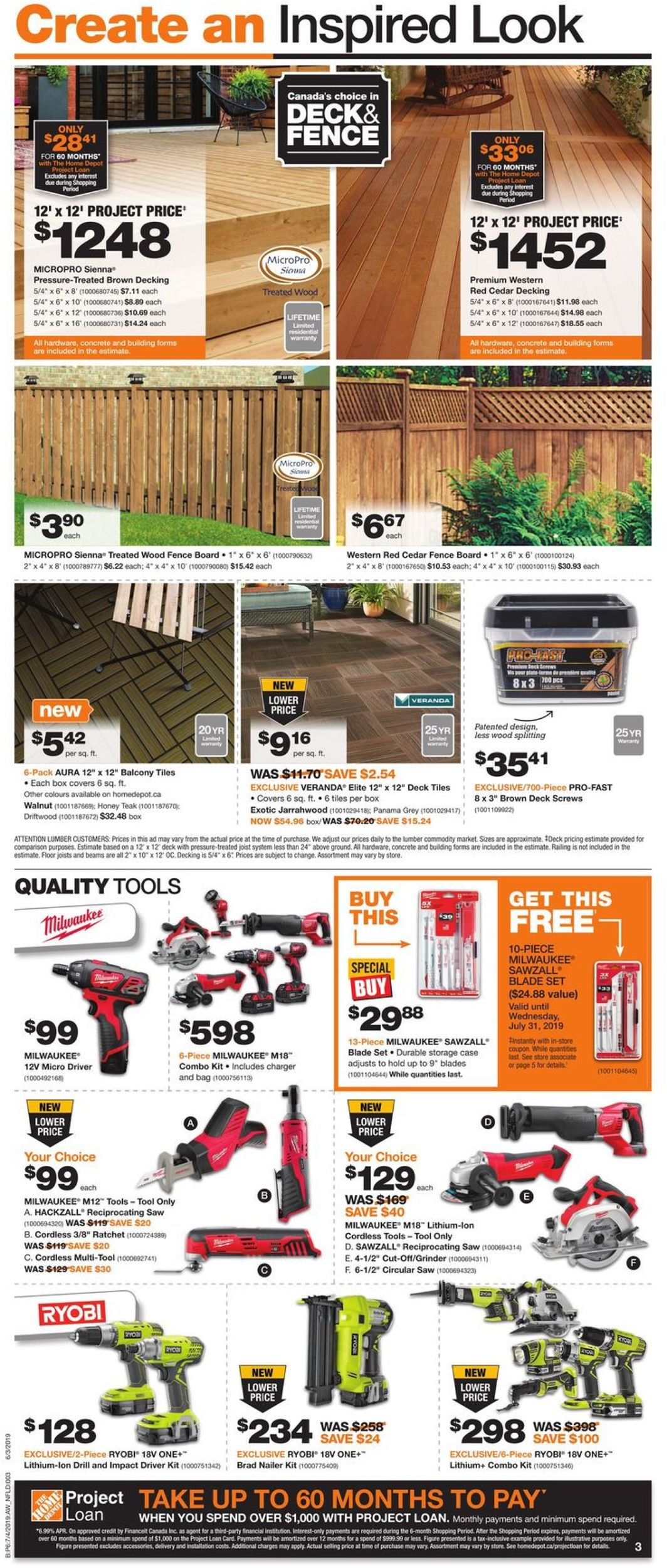 Home Depot Flyer - 07/04-07/10/2019 (Page 4)