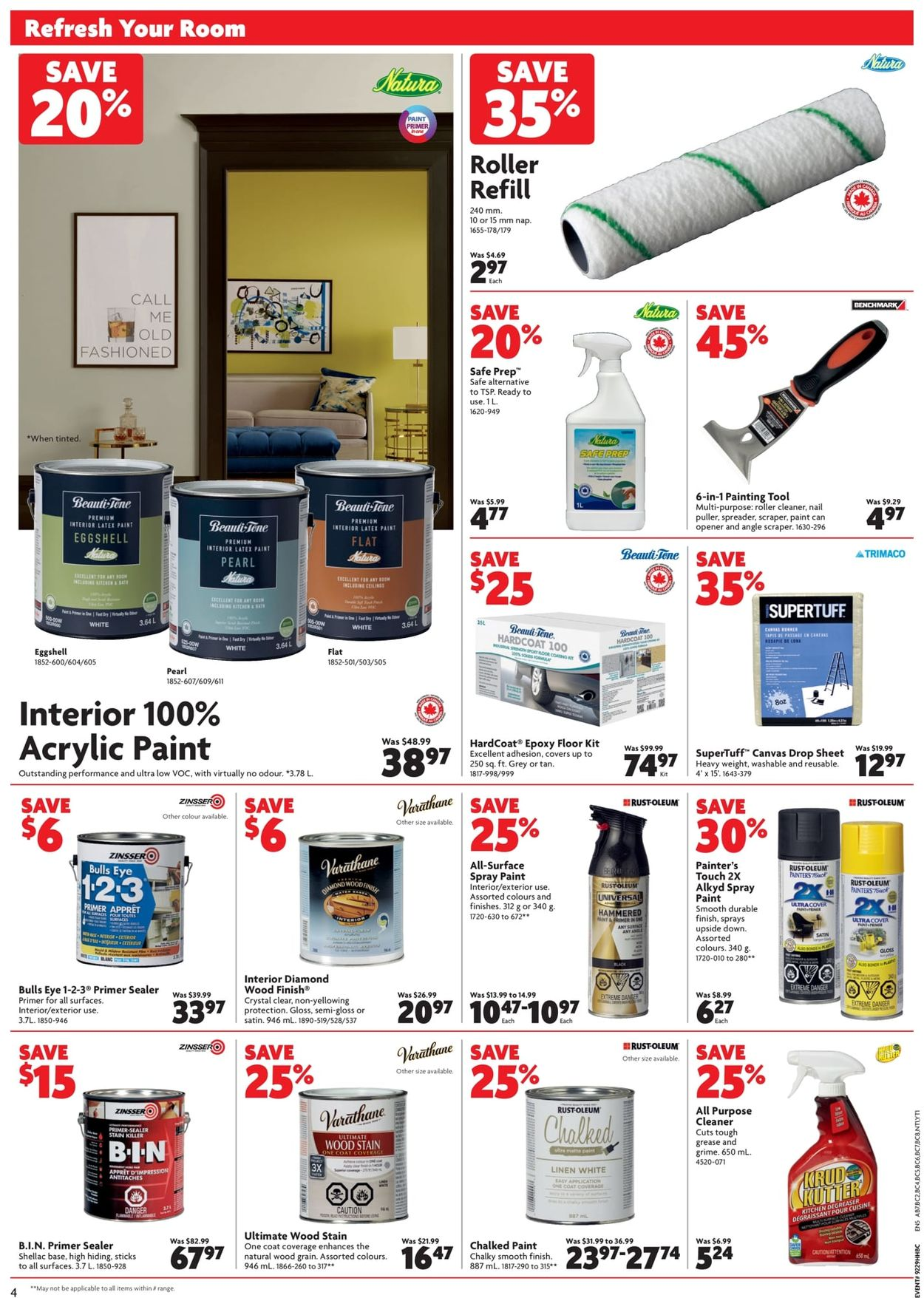 Home Hardware Flyer - 09/19-09/25/2019 (Page 6)