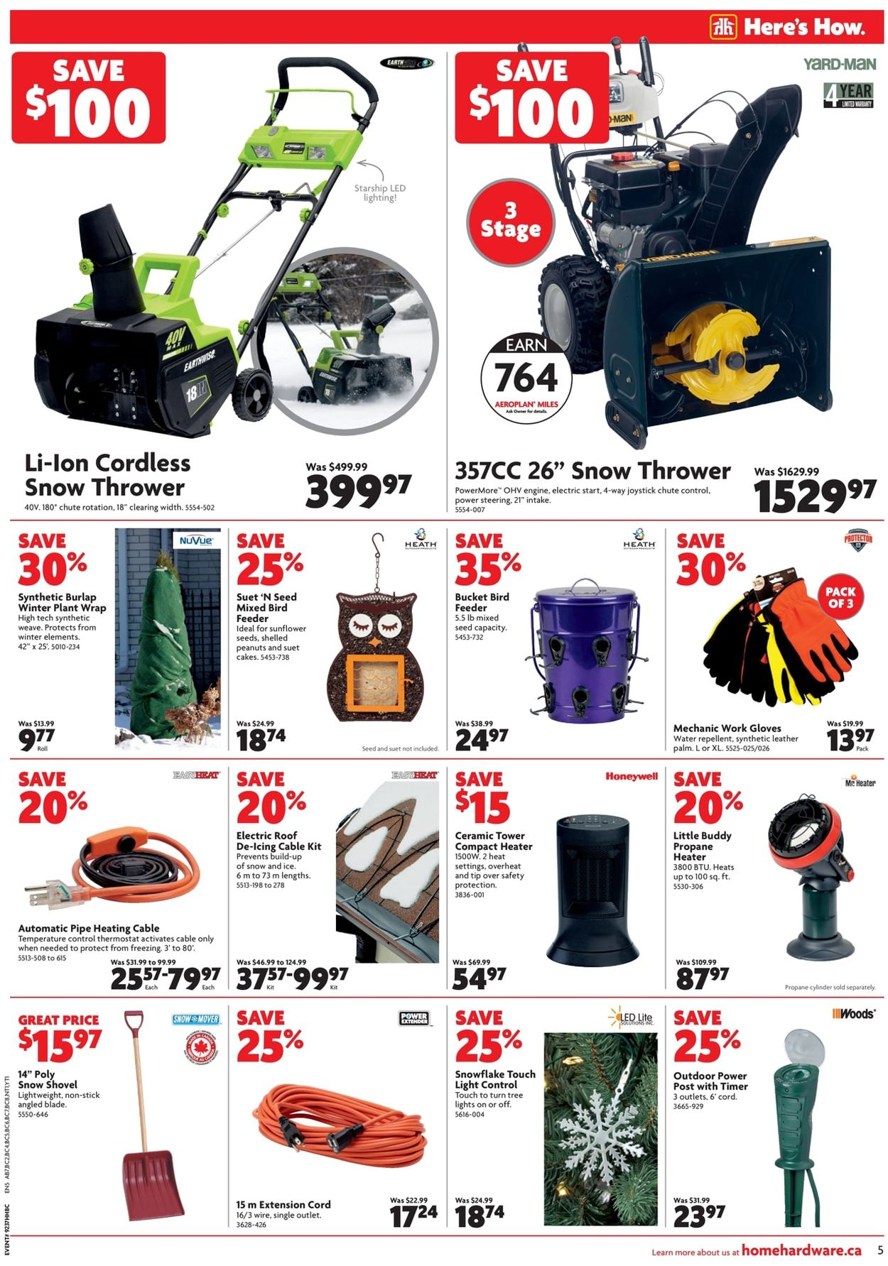 Home Hardware - Winter 2019 Savings Flyer - 11/14-11/20/2019 (Page 6)
