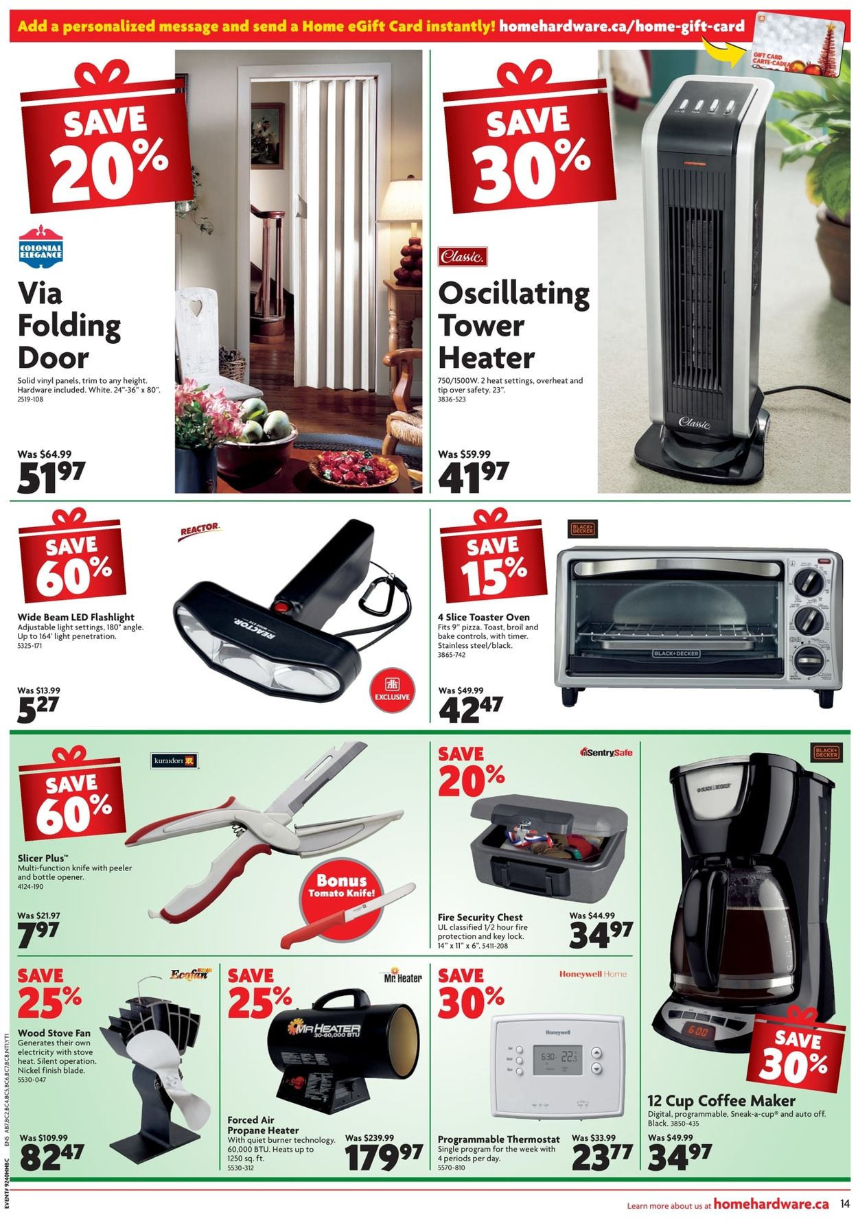 Home Hardware - CHRISTMAS 2019 FLYER Flyer - 12/05-12/11/2019 (Page 15)