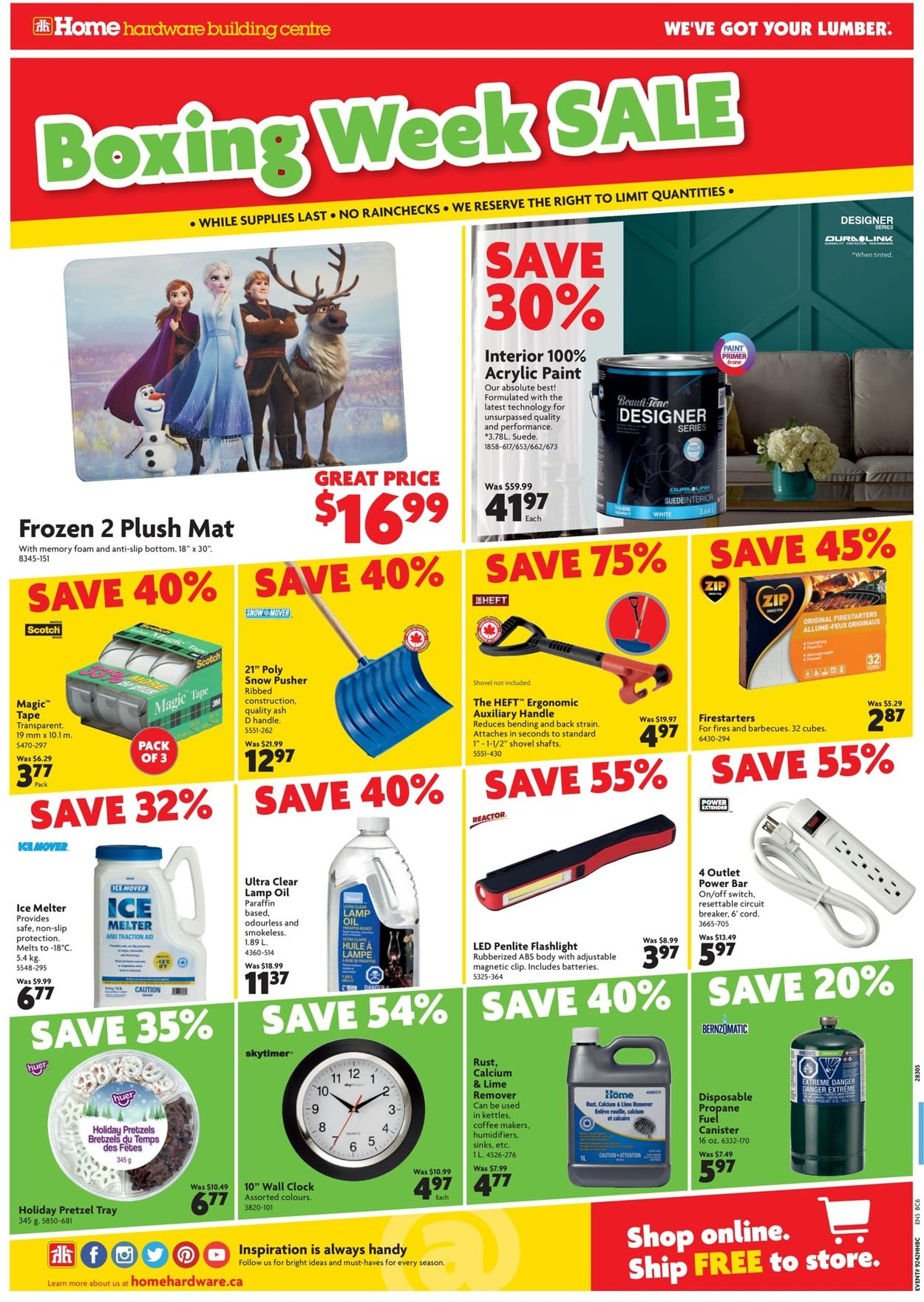 Home Hardware - Boxing Week 2019 Sale Flyer - 12/19-01/05/2020 (Page 2)