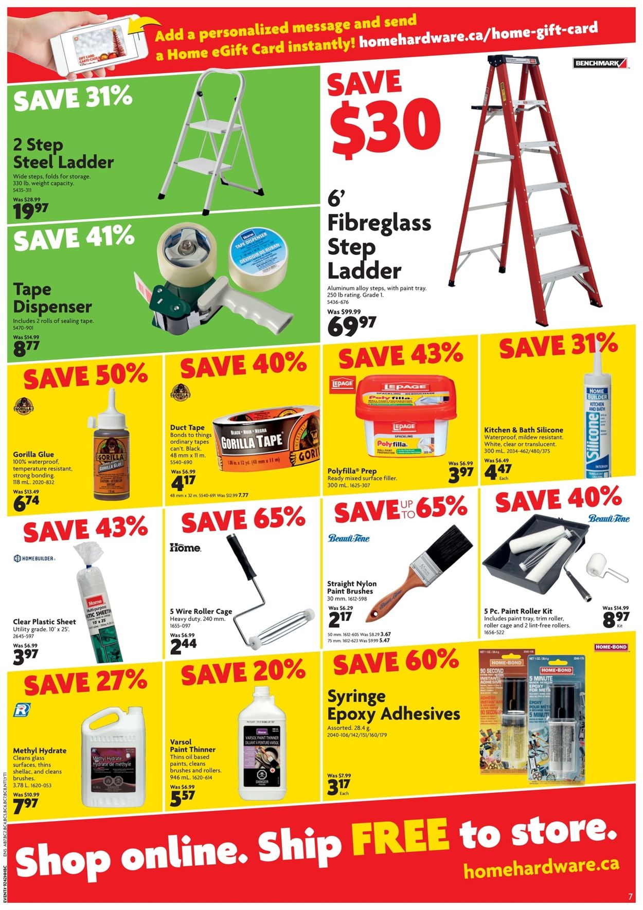 Home Hardware - Boxing Week 2019 Sale Flyer - 12/19-01/05/2020 (Page 9)