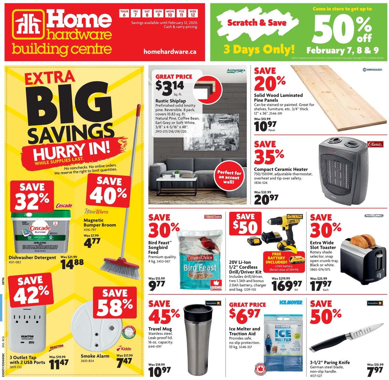 Home Hardware Flyer - 02/06-02/12/2020
