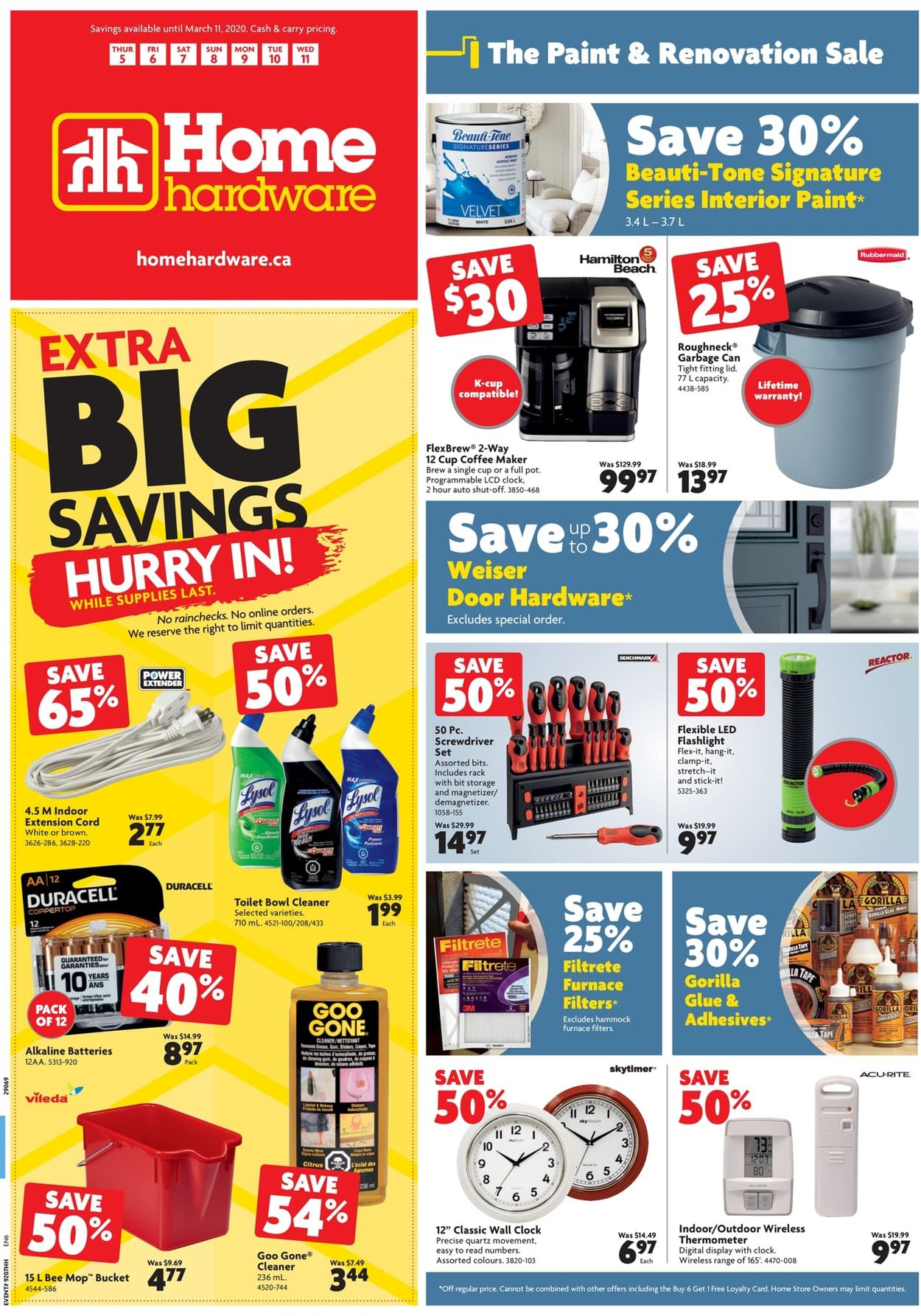 Home Hardware Flyer - 03/05-03/11/2020