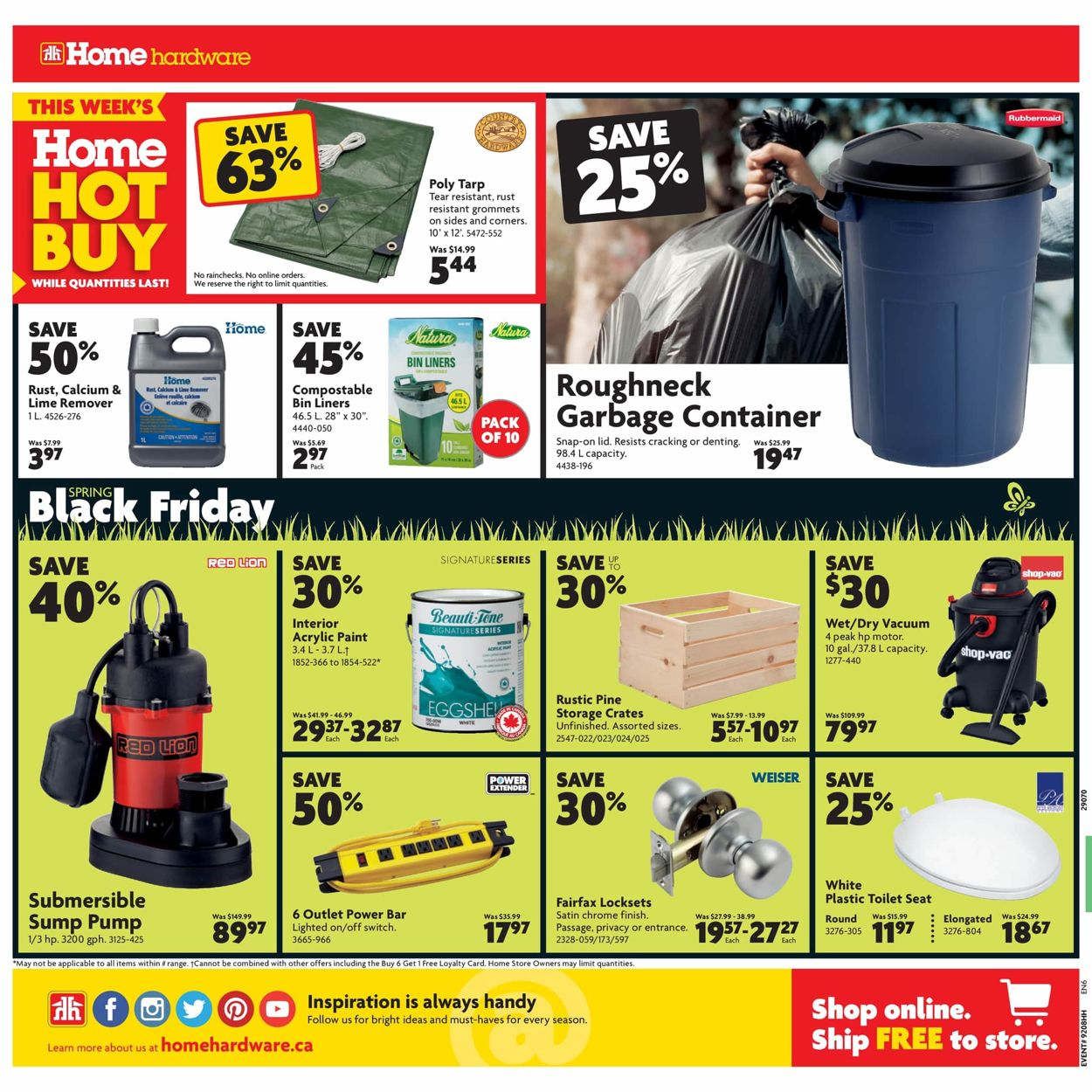 Home Hardware Flyer - 03/12-03/18/2020 (Page 2)