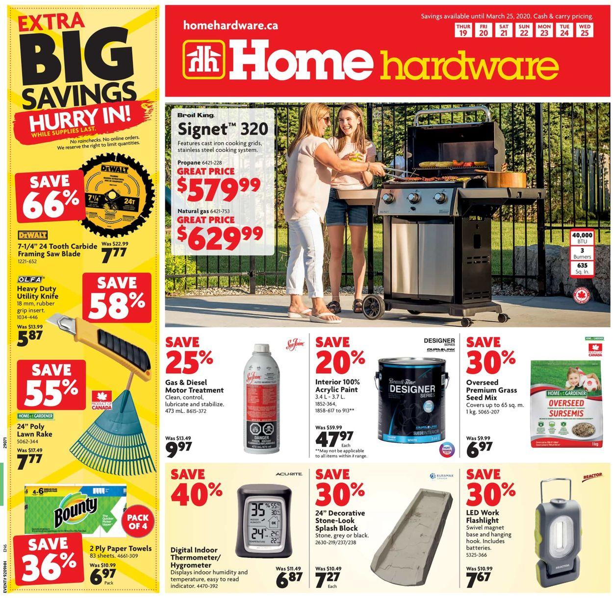 Home Hardware Flyer - 03/19-03/25/2020