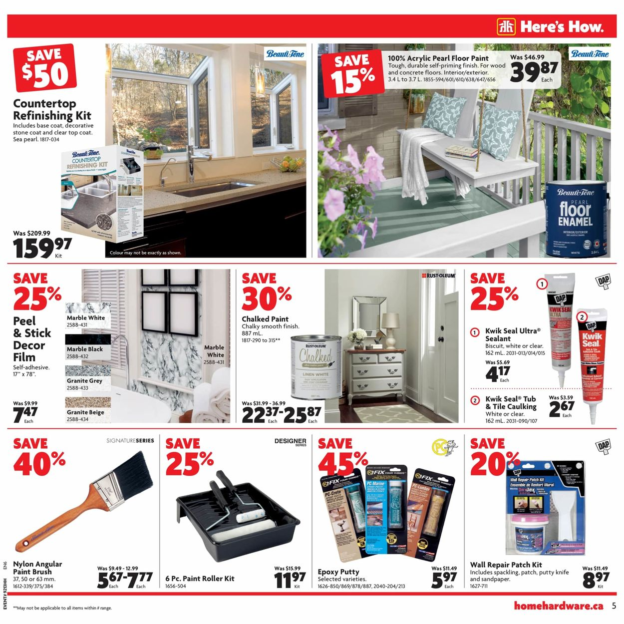 Home Hardware Flyer - 04/16-04/22/2020 (Page 6)