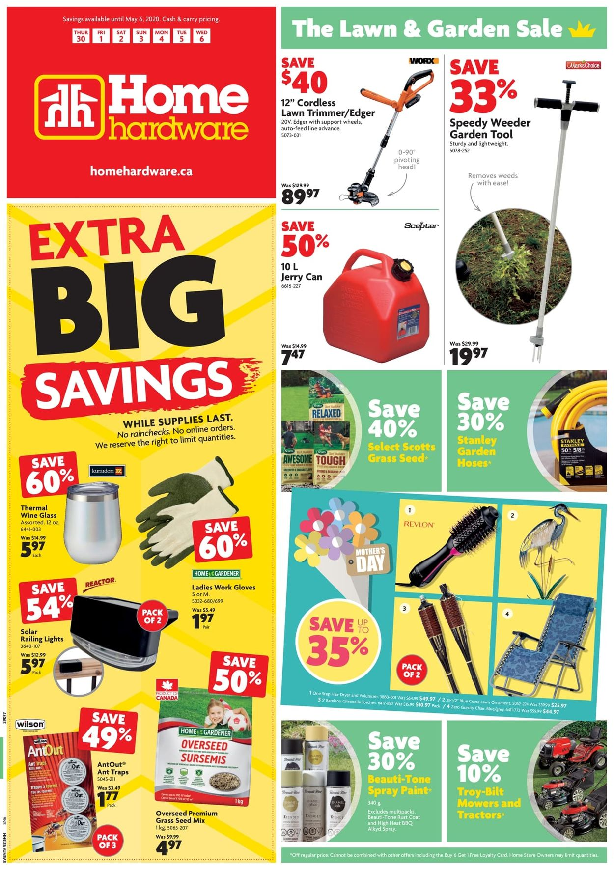 Home Hardware Flyer - 04/30-05/06/2020