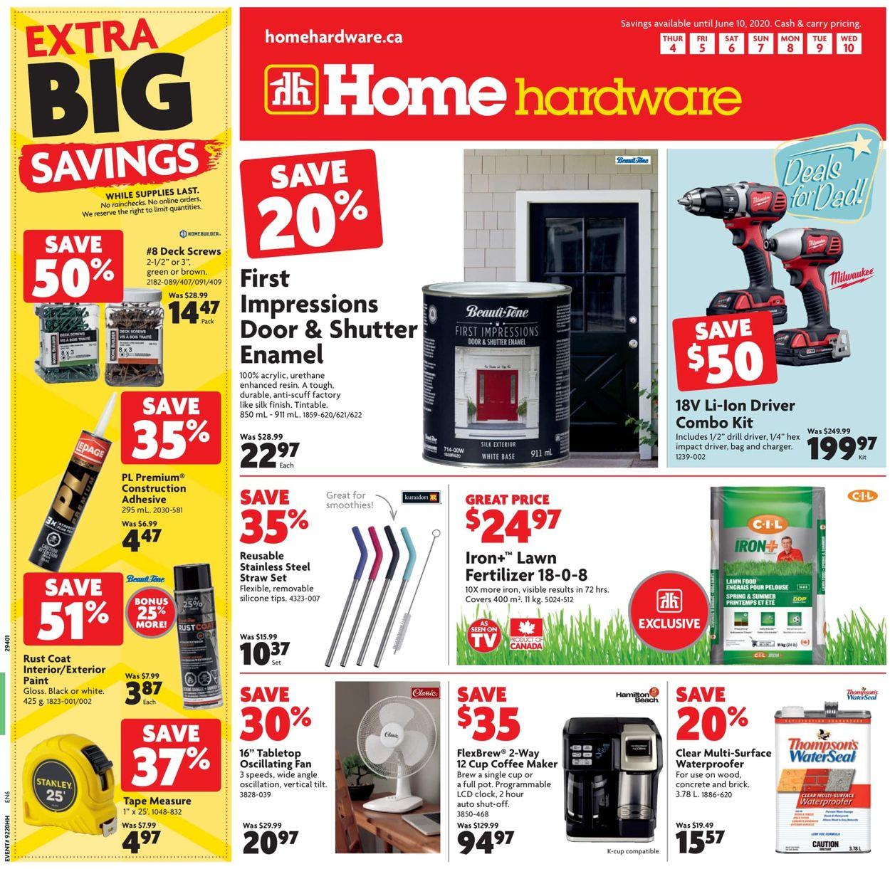 Home Hardware Flyer - 06/04-06/10/2020
