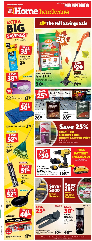 Home Hardware Flyer - 08/27-09/02/2020